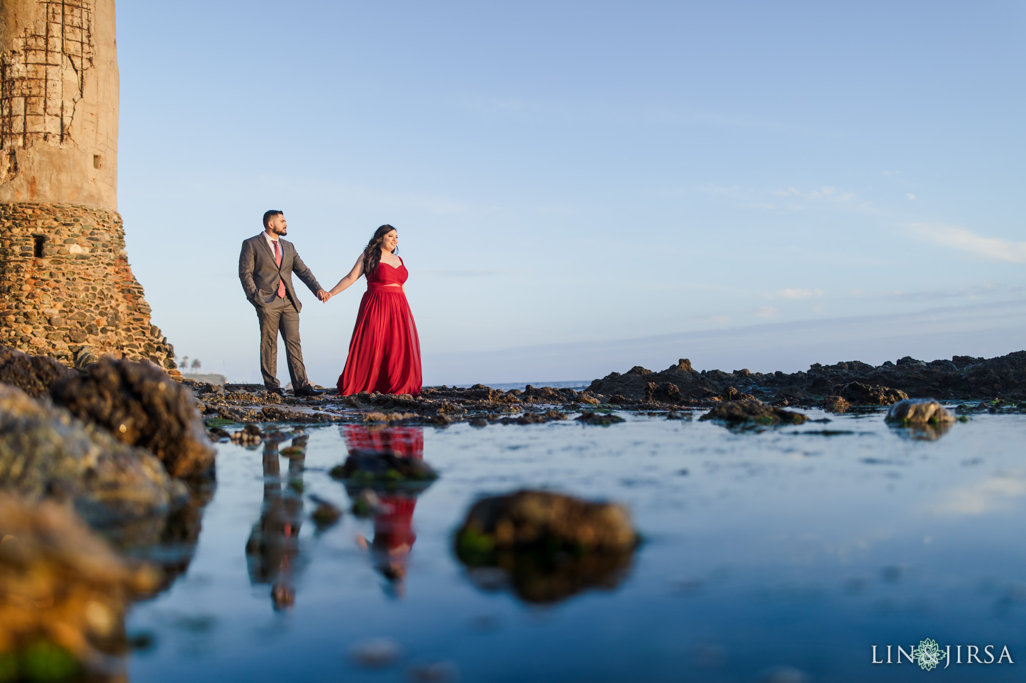 07 Victoria Beach Orange County Engagement Photography