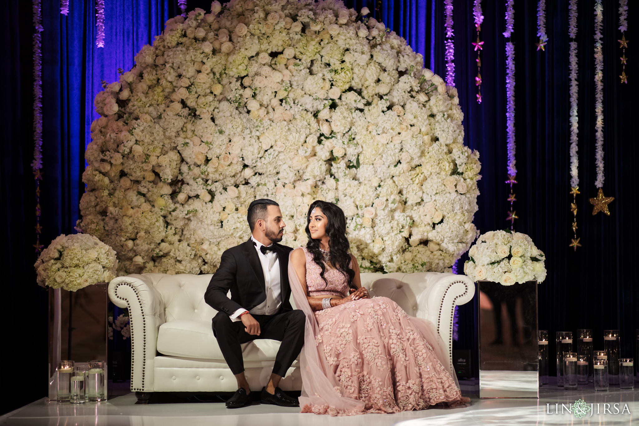 08 Hotel Irvine Joint Indian Reception Wedding Photography