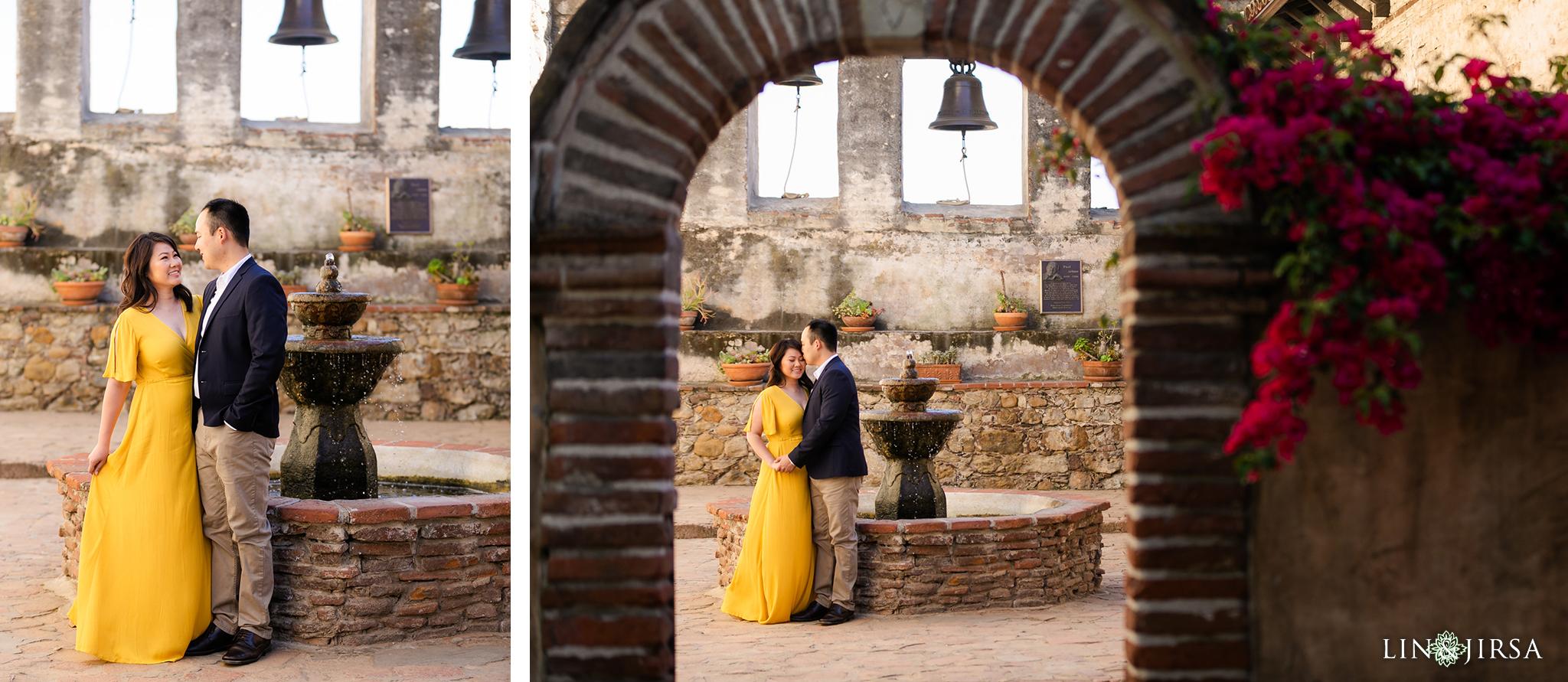 08 Mission San Juan Capistrano Engagement Photography