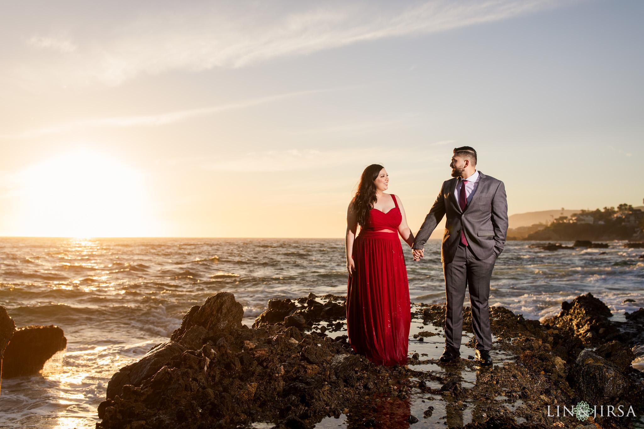 08 Victoria Beach Orange County Engagement Photography