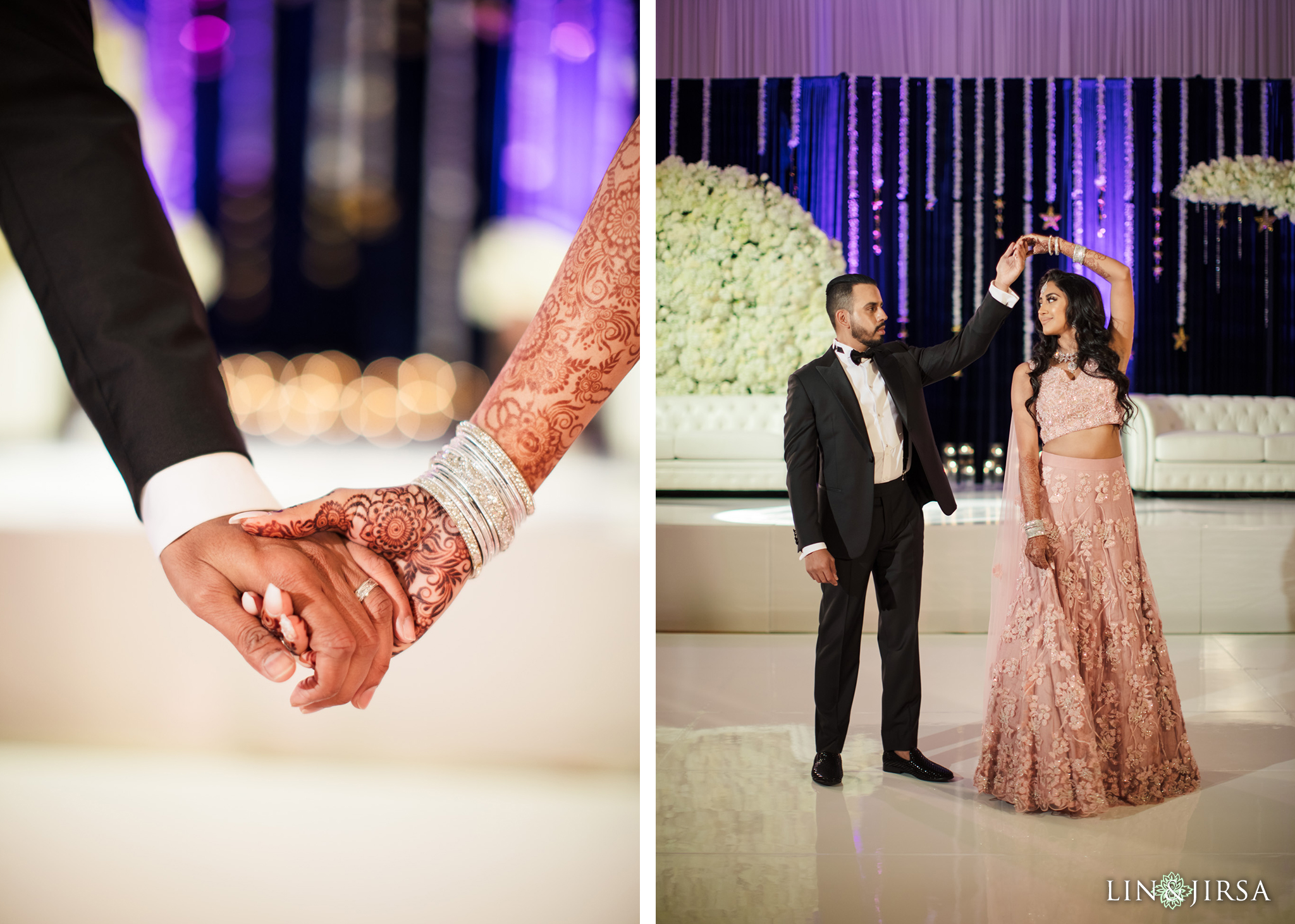 09 Hotel Irvine Joint Indian Reception Wedding Photography