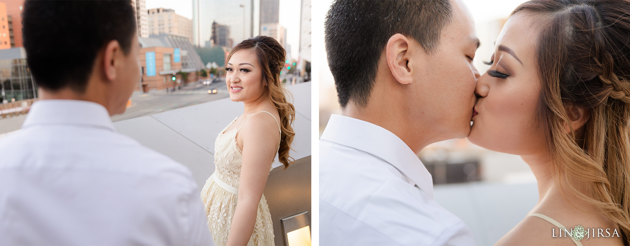 10 Downtown Los Angeles Engagement Photography