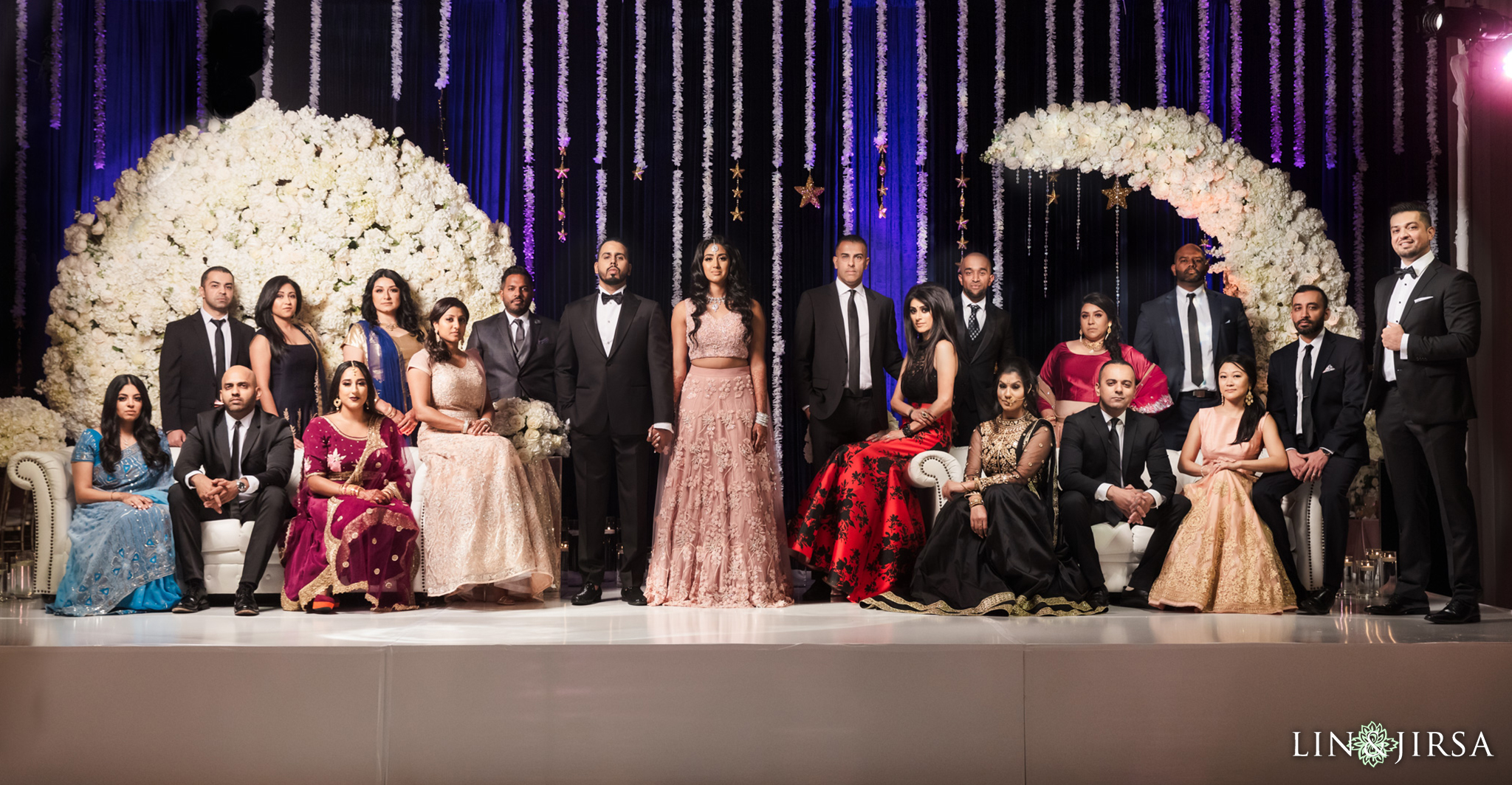 10 Hotel Irvine Joint Indian Reception Wedding Photography