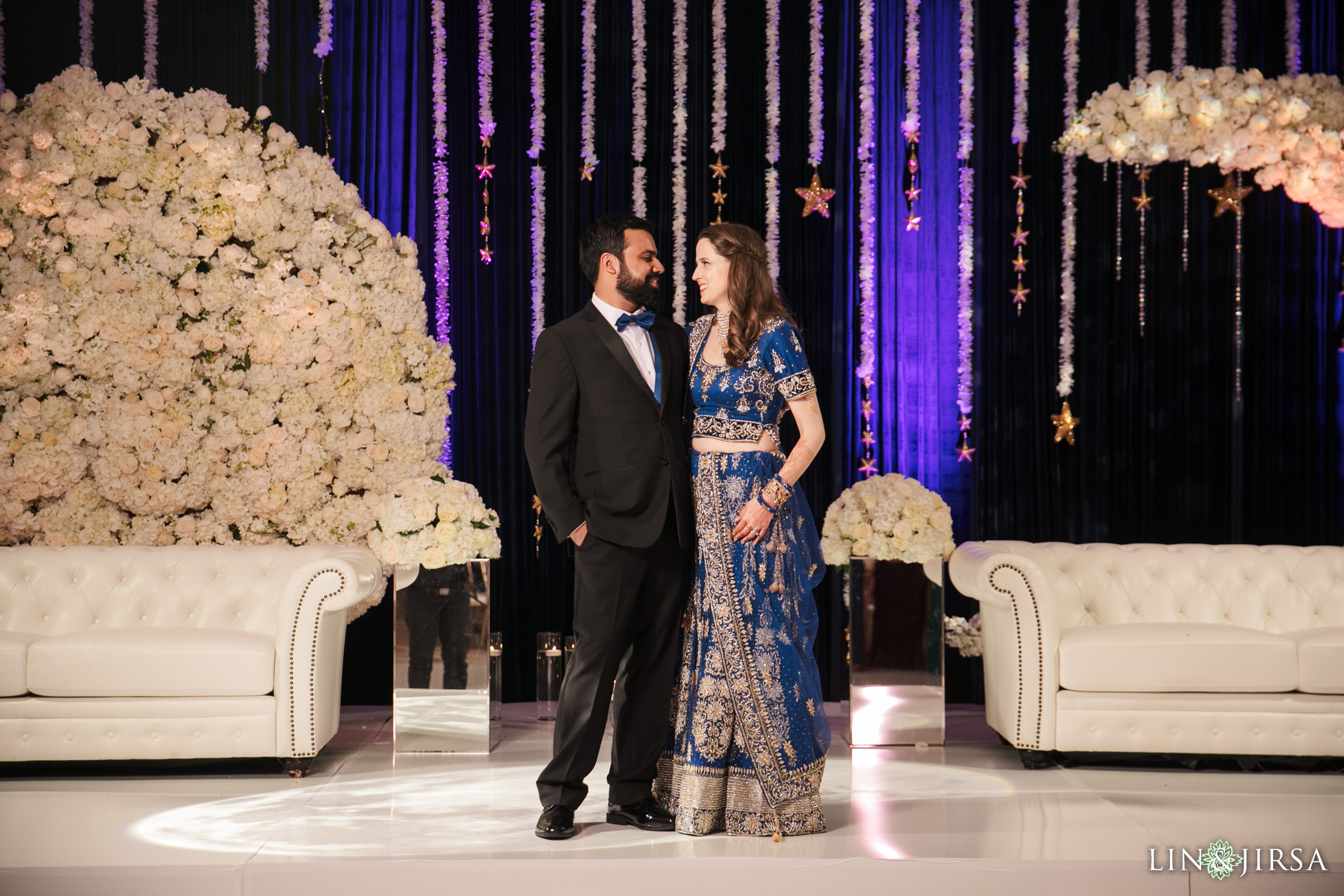 11 Hotel Irvine Joint Indian Reception Wedding Photography