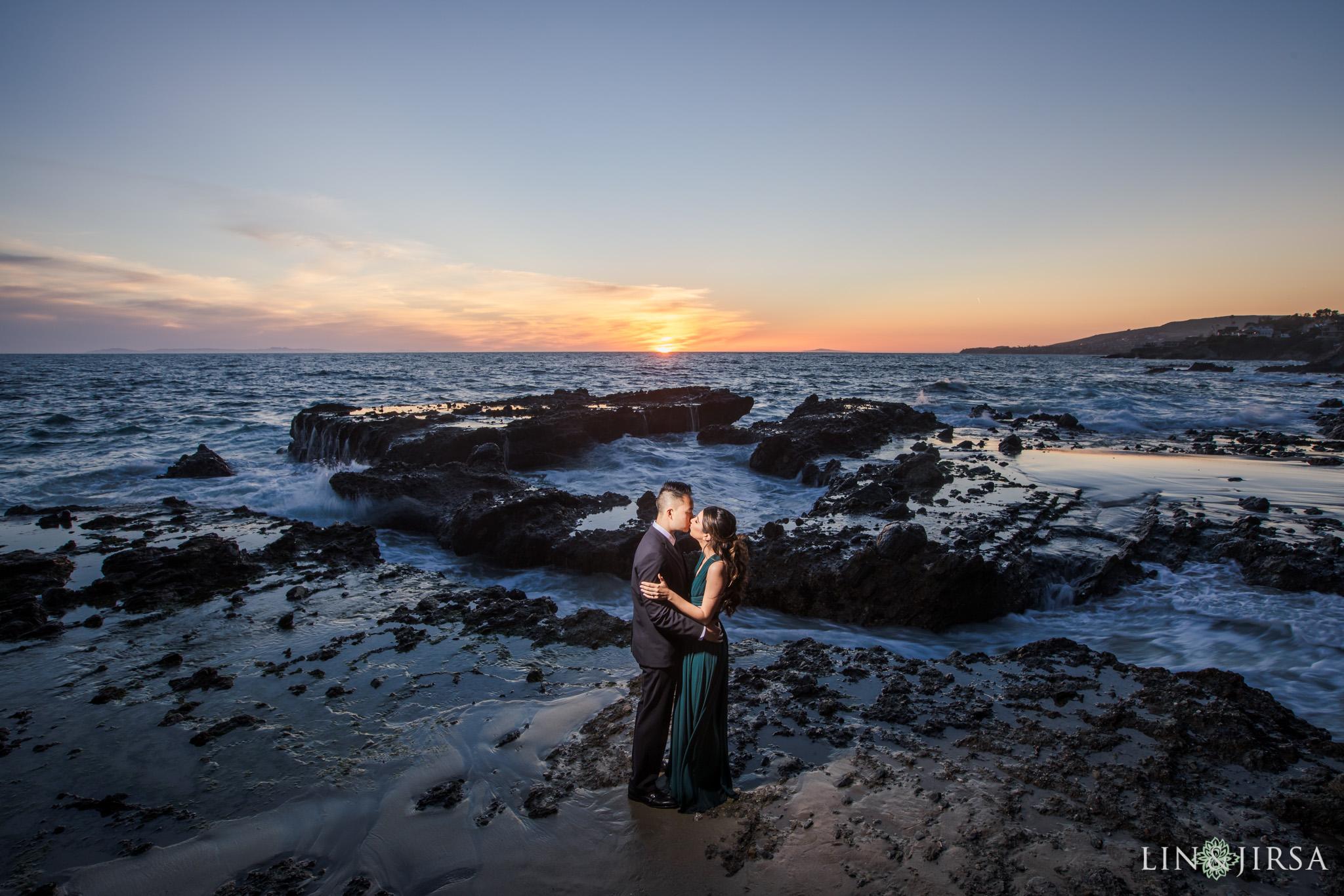 11 Victoria Beach Orange County Engagement Photography