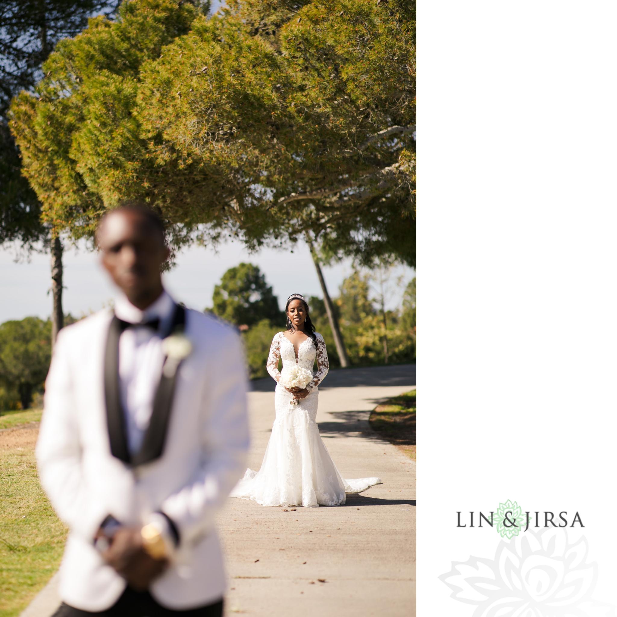 12 Los Verdes Golf Course Palos Verdes Kenyan Wedding Photography