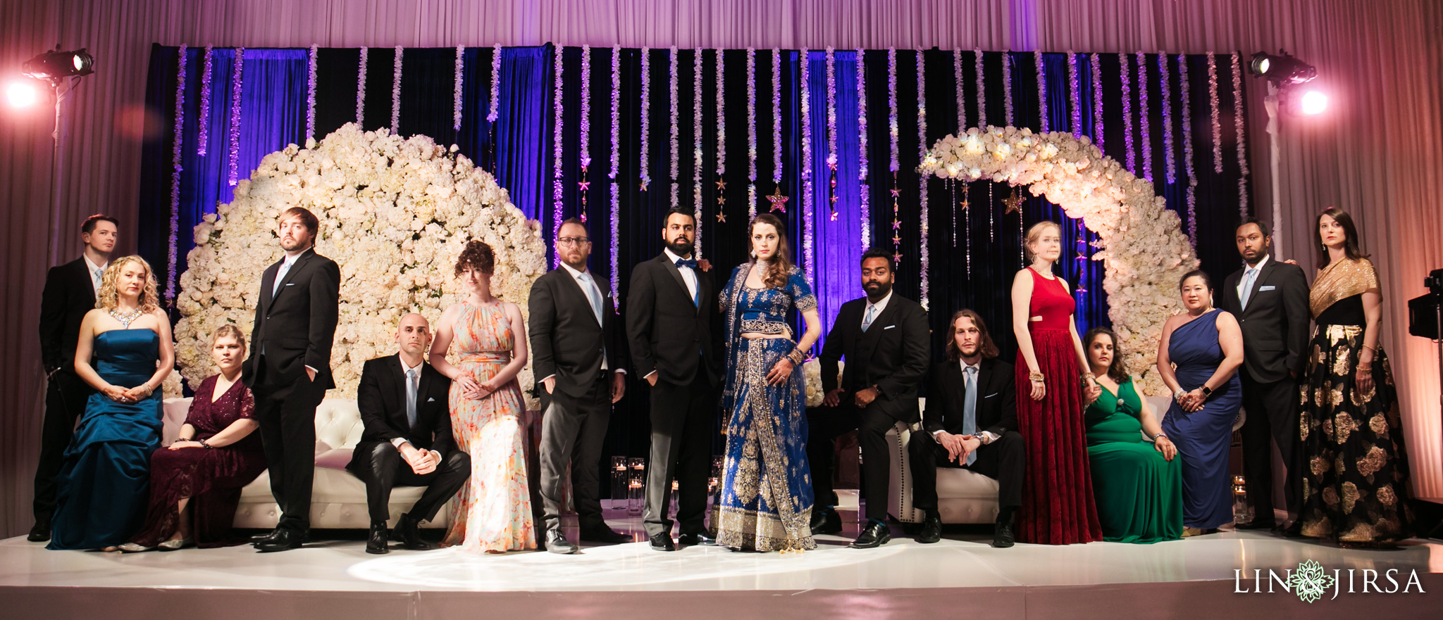 13 Hotel Irvine Joint Indian Reception Wedding Photography