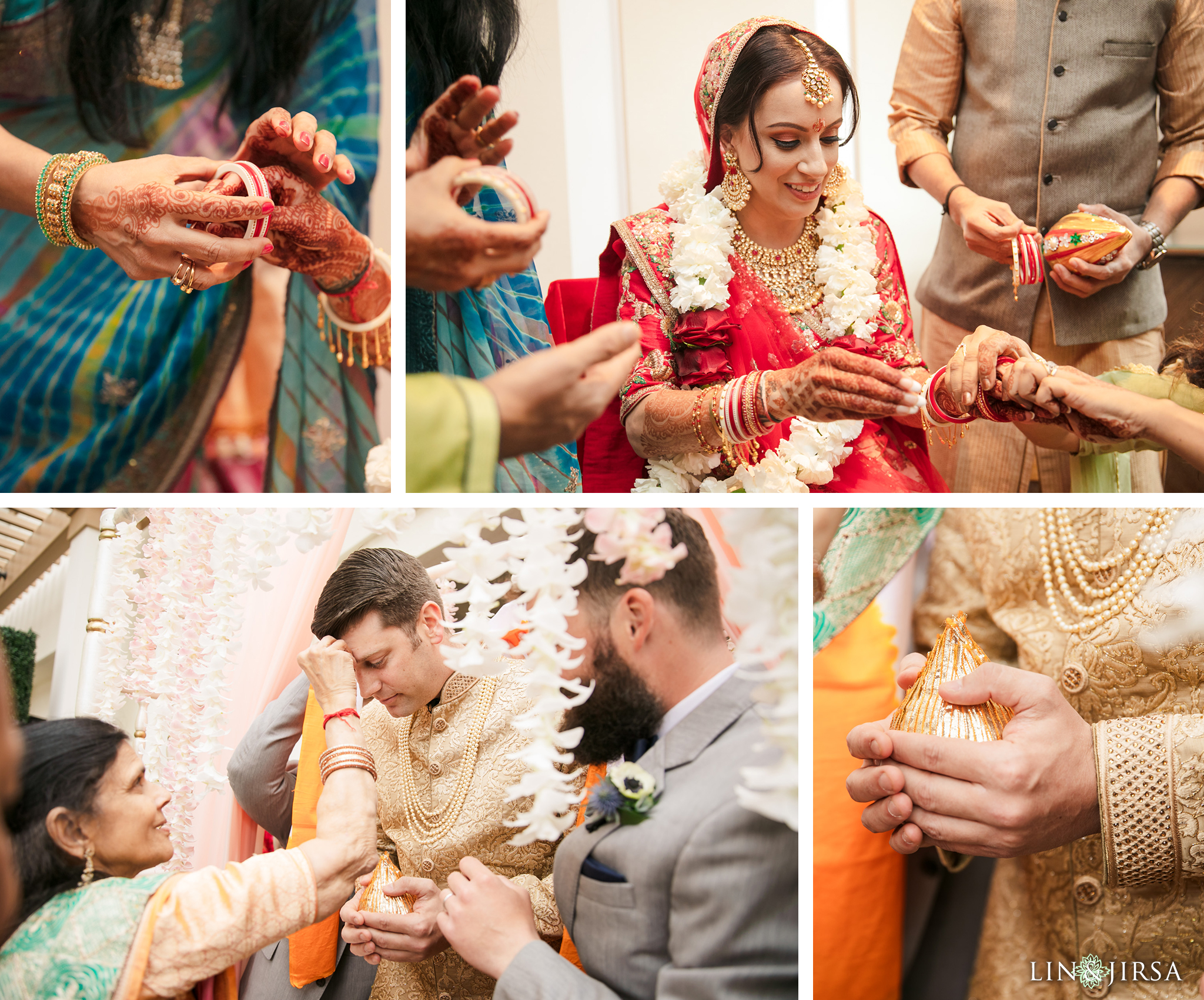 13 The Waterfront Beach Resort Orange County Indian Wedding Photography