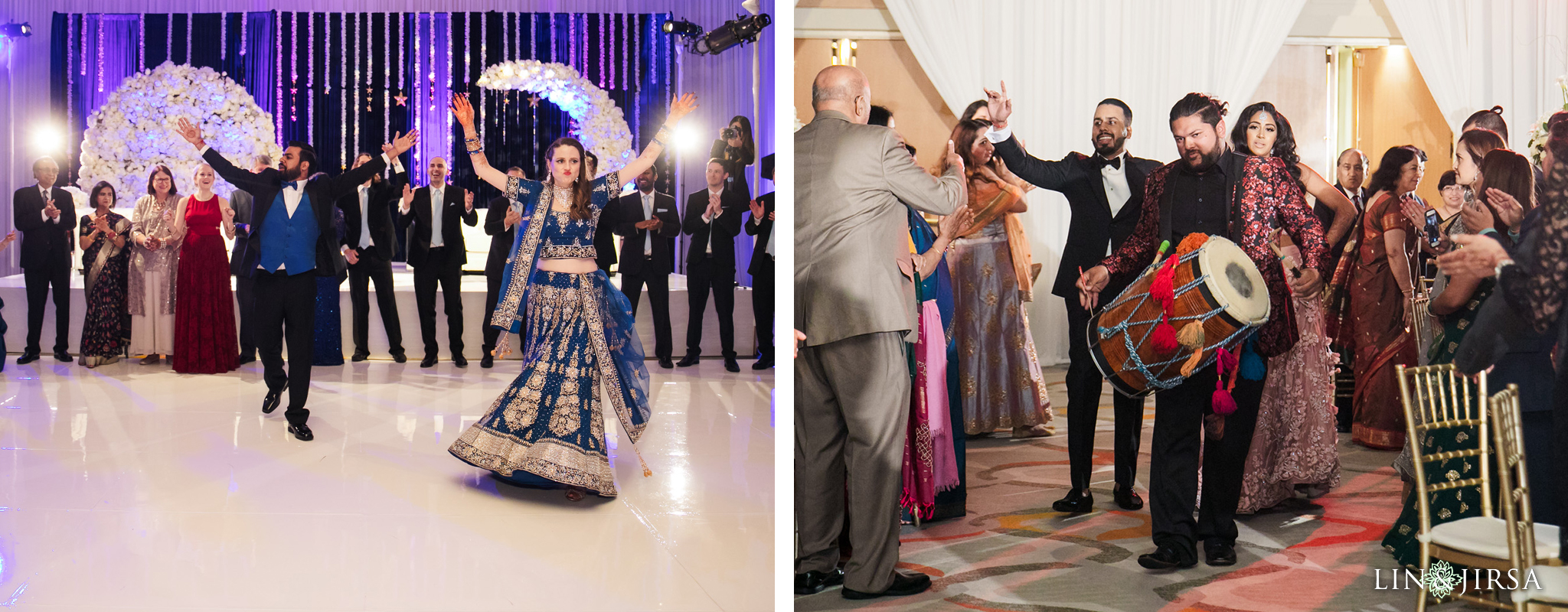 14 Hotel Irvine Joint Indian Reception Wedding Photography