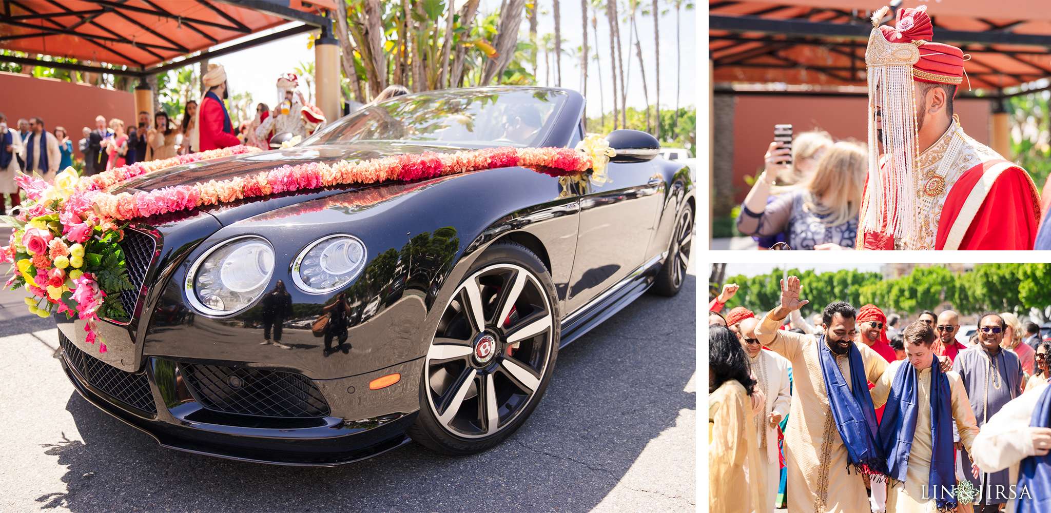 14 Hotel Irvine Multicultural Indian Baraat Wedding Photography