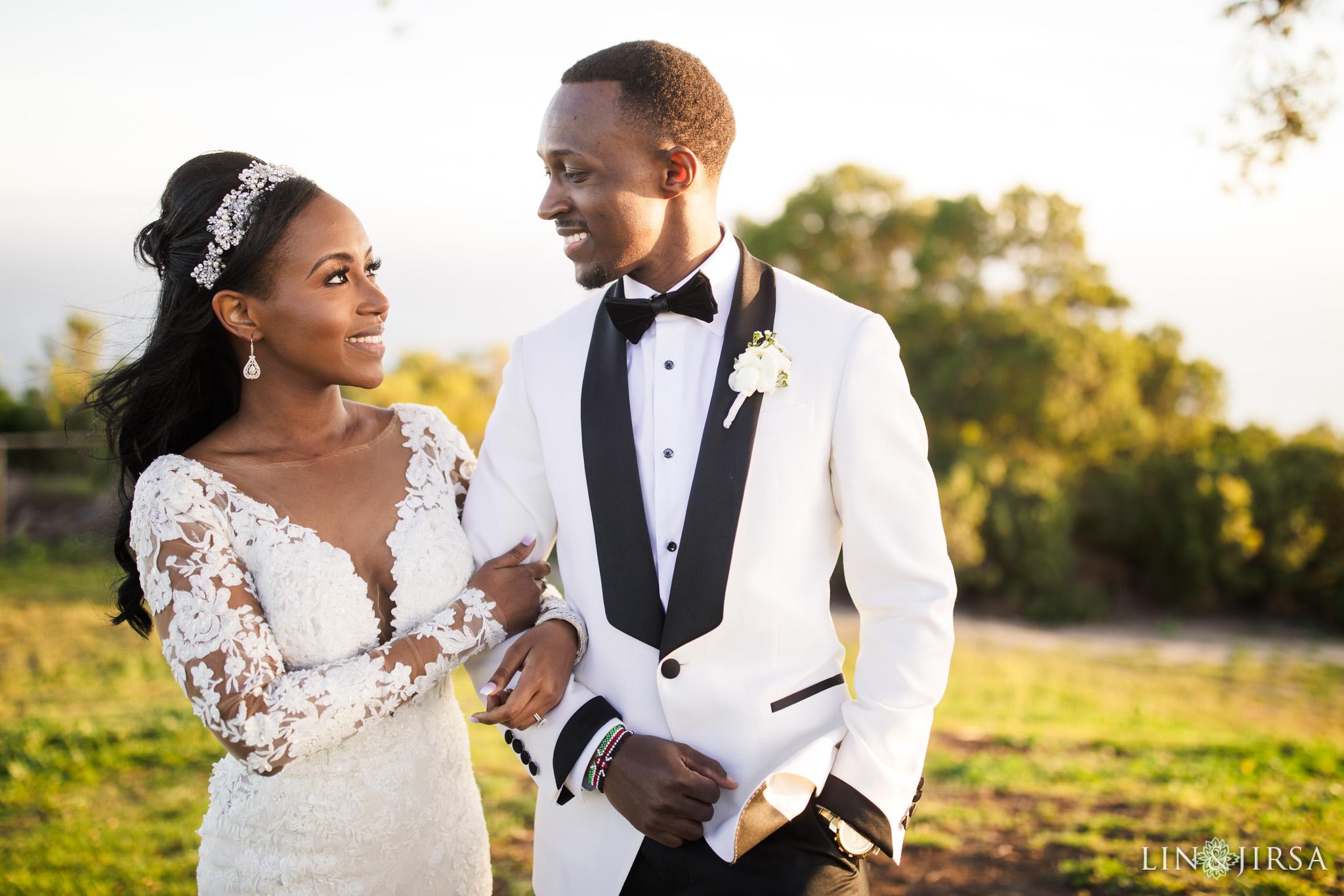 14 Los Verdes Golf Course Palos Verdes Kenyan Wedding Photography