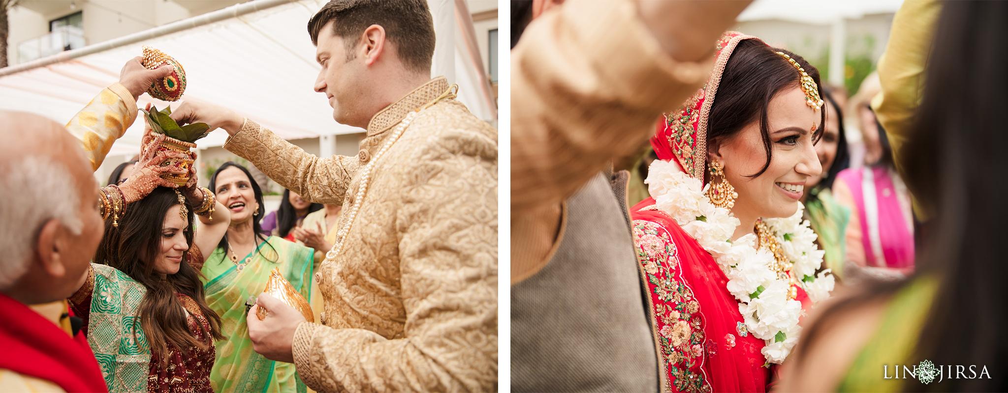 14 The Waterfront Beach Resort Orange County Indian Wedding Photography
