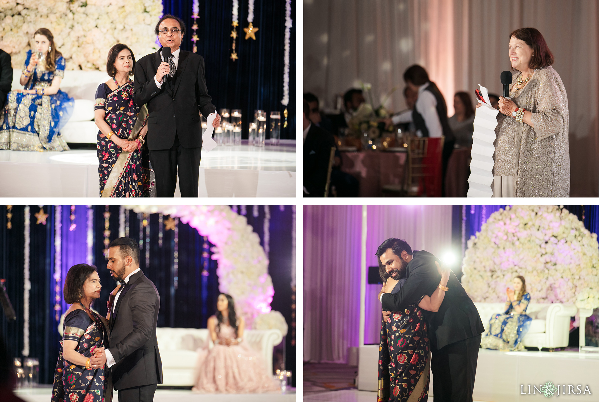 15 Hotel Irvine Joint Indian Reception Wedding Photography