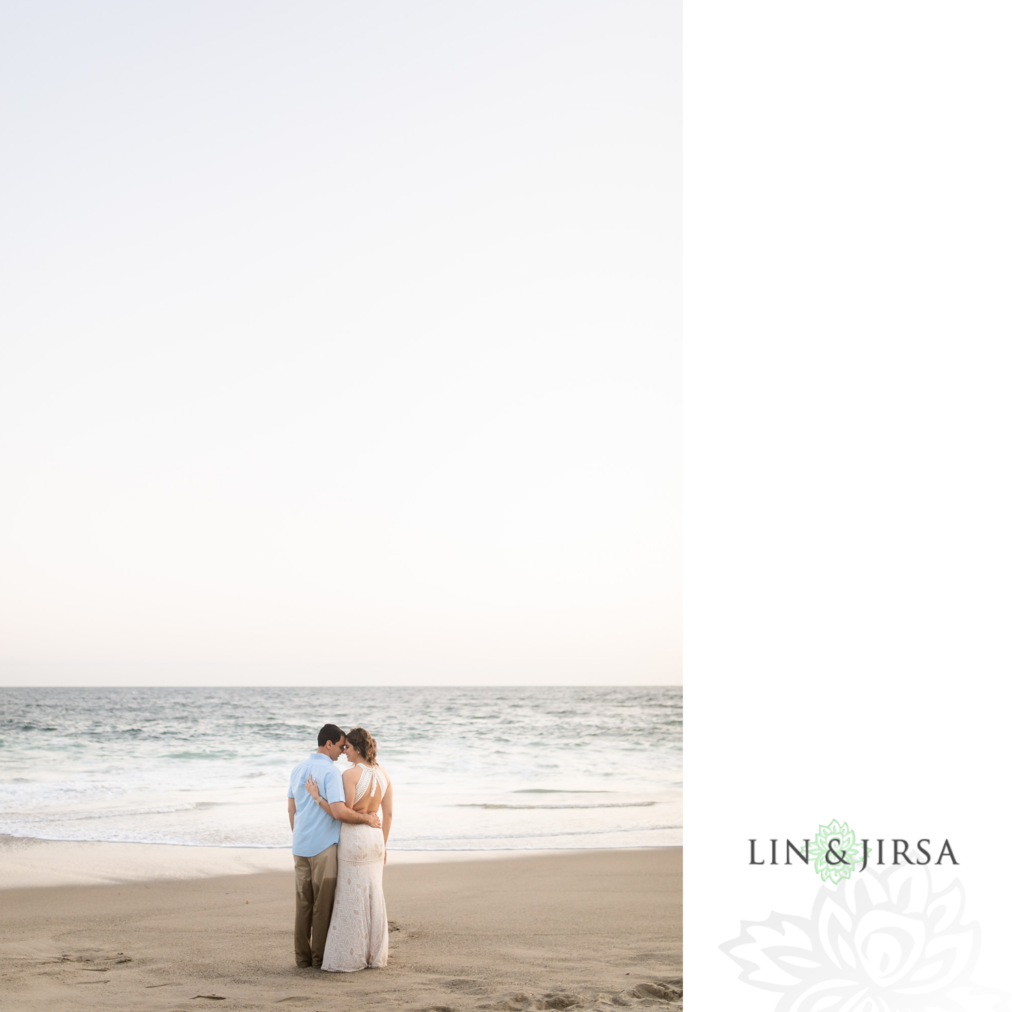 15 Orange County Sunset Beach Engagement Photography