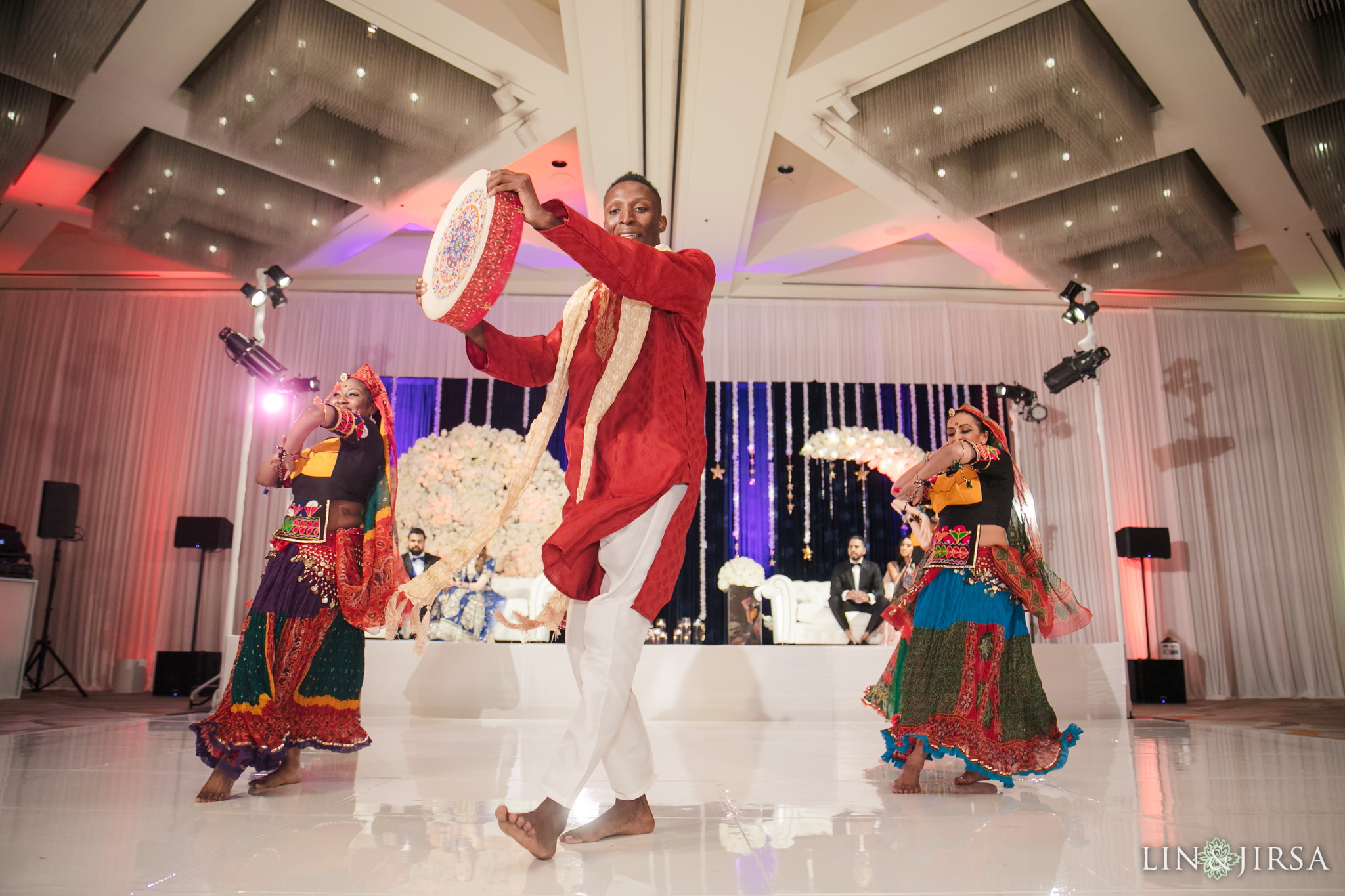 16 Hotel Irvine Joint Indian Reception Wedding Photography
