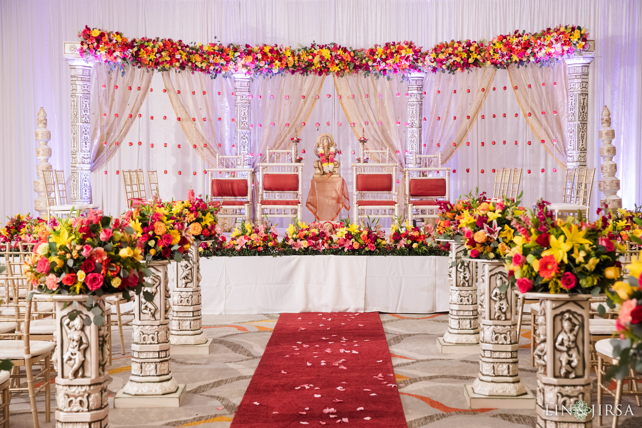 16 Hotel Irvine Multicultural Indian Wedding Photography