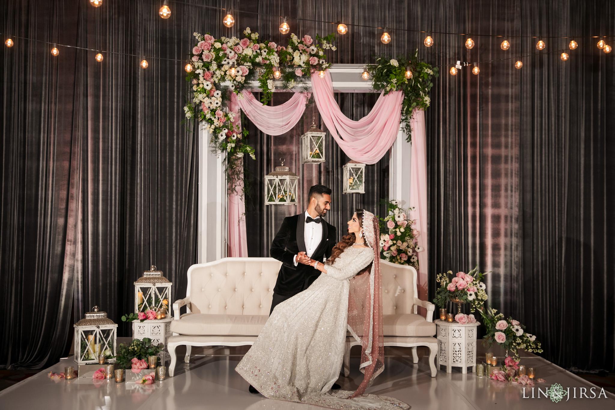 16 Hotel Irvine Pakistani Muslim Wedding Valima Photography