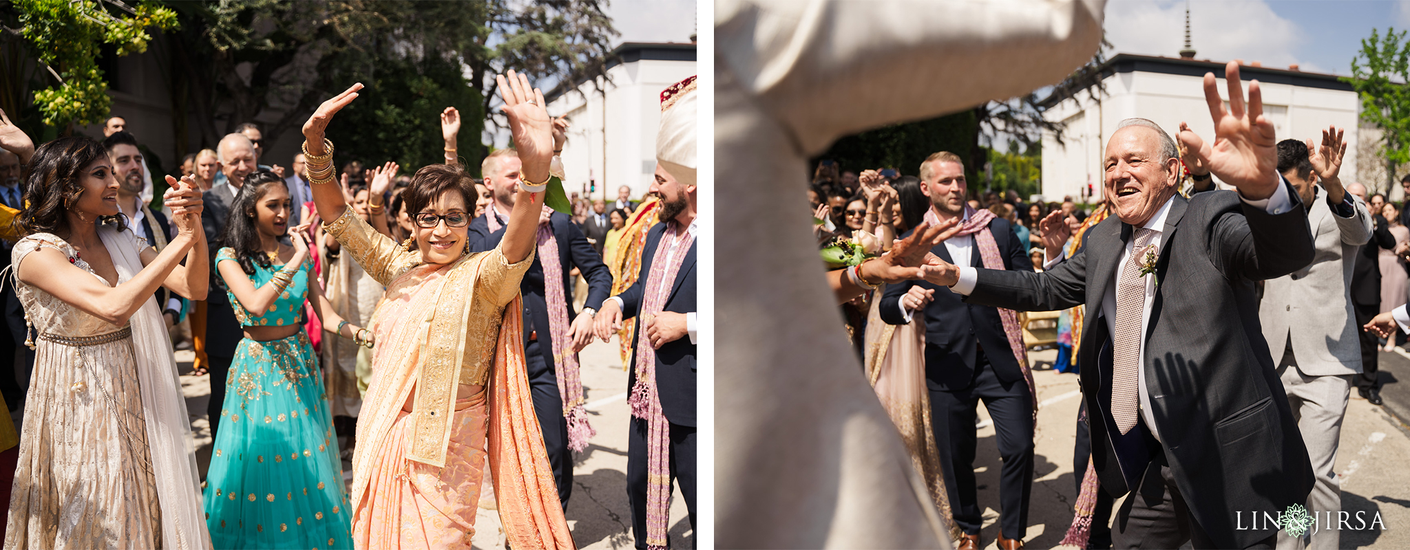 16 The Ebell Los Angeles Indian Wedding Baraat Photography