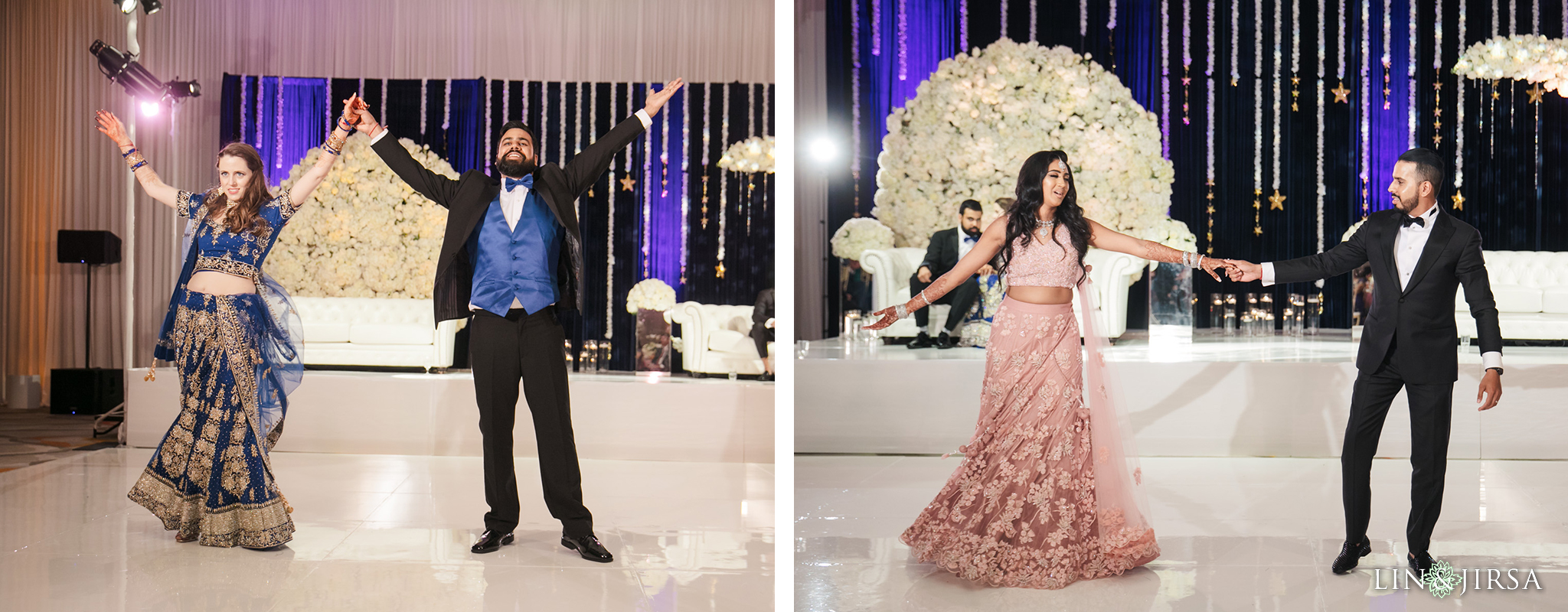 17 Hotel Irvine Joint Indian Reception Wedding Photography