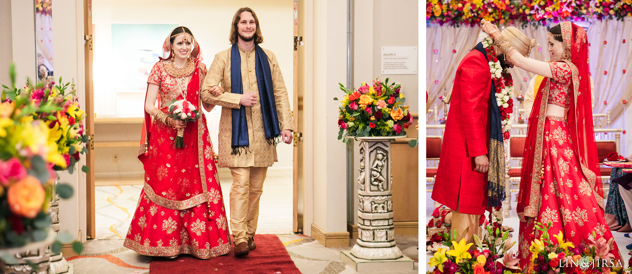 18 Hotel Irvine Multicultural Indian Wedding Photography