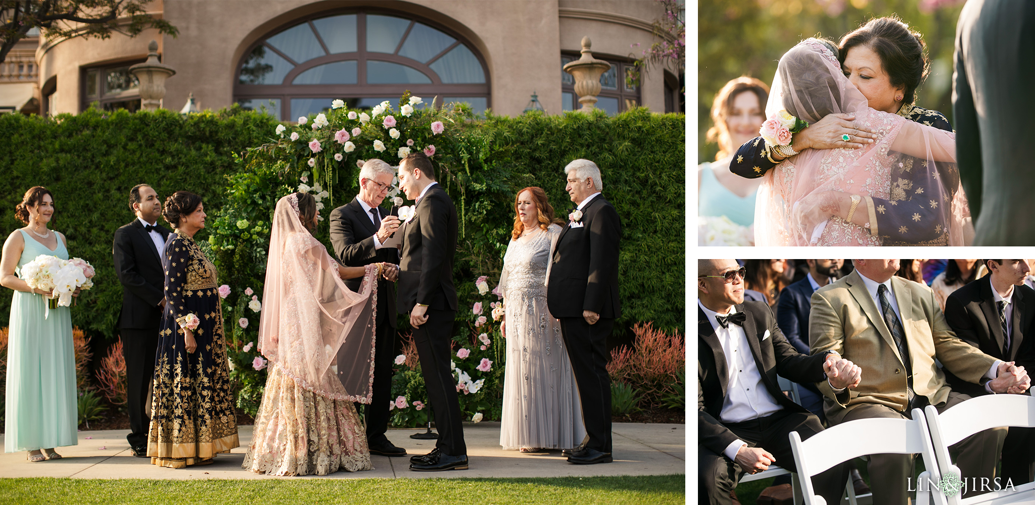 18 Langham Pasadena Multicultural Wedding Photography