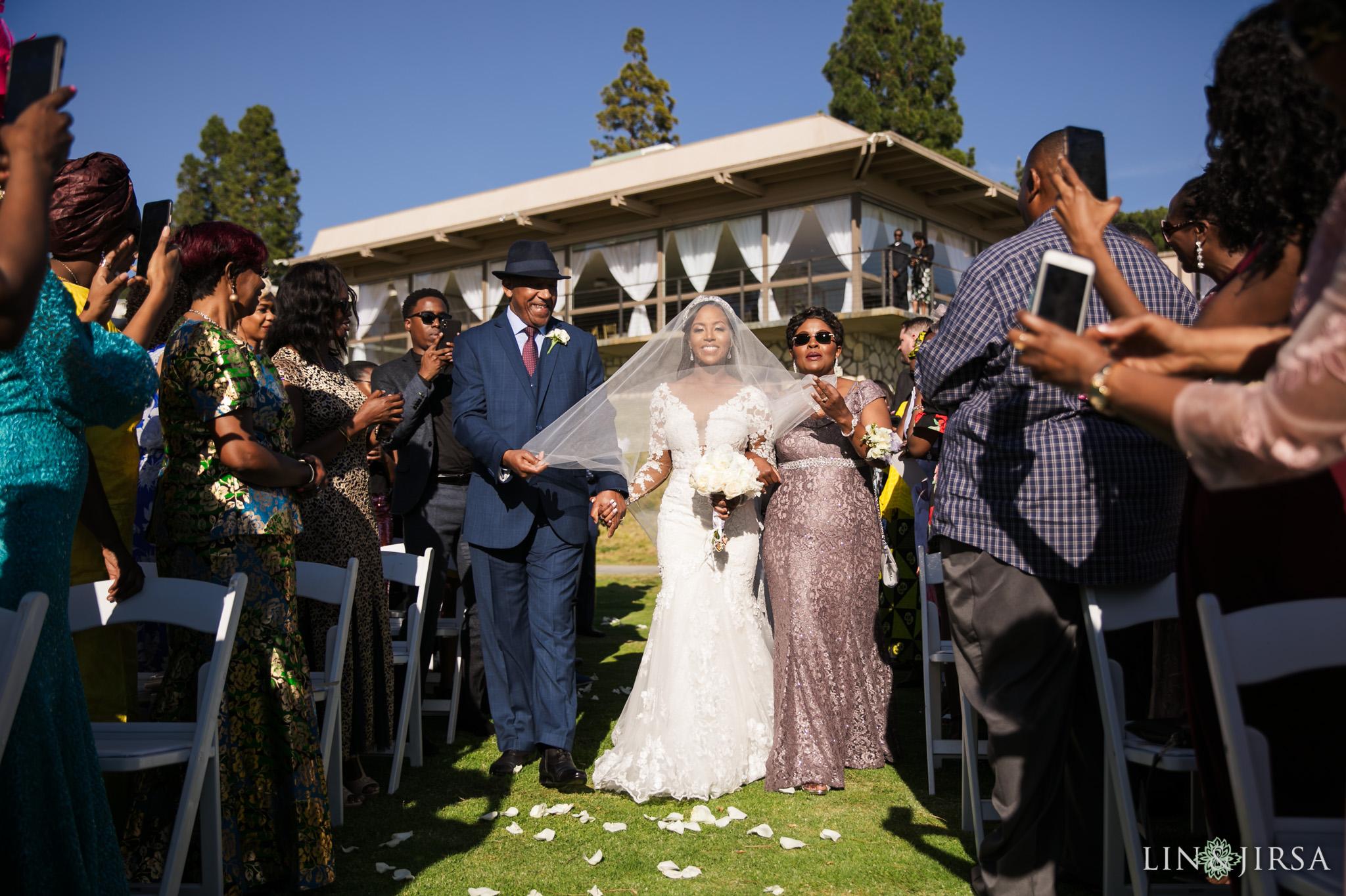 18 Los Verdes Golf Course Palos Verdes Kenyan Wedding Photography