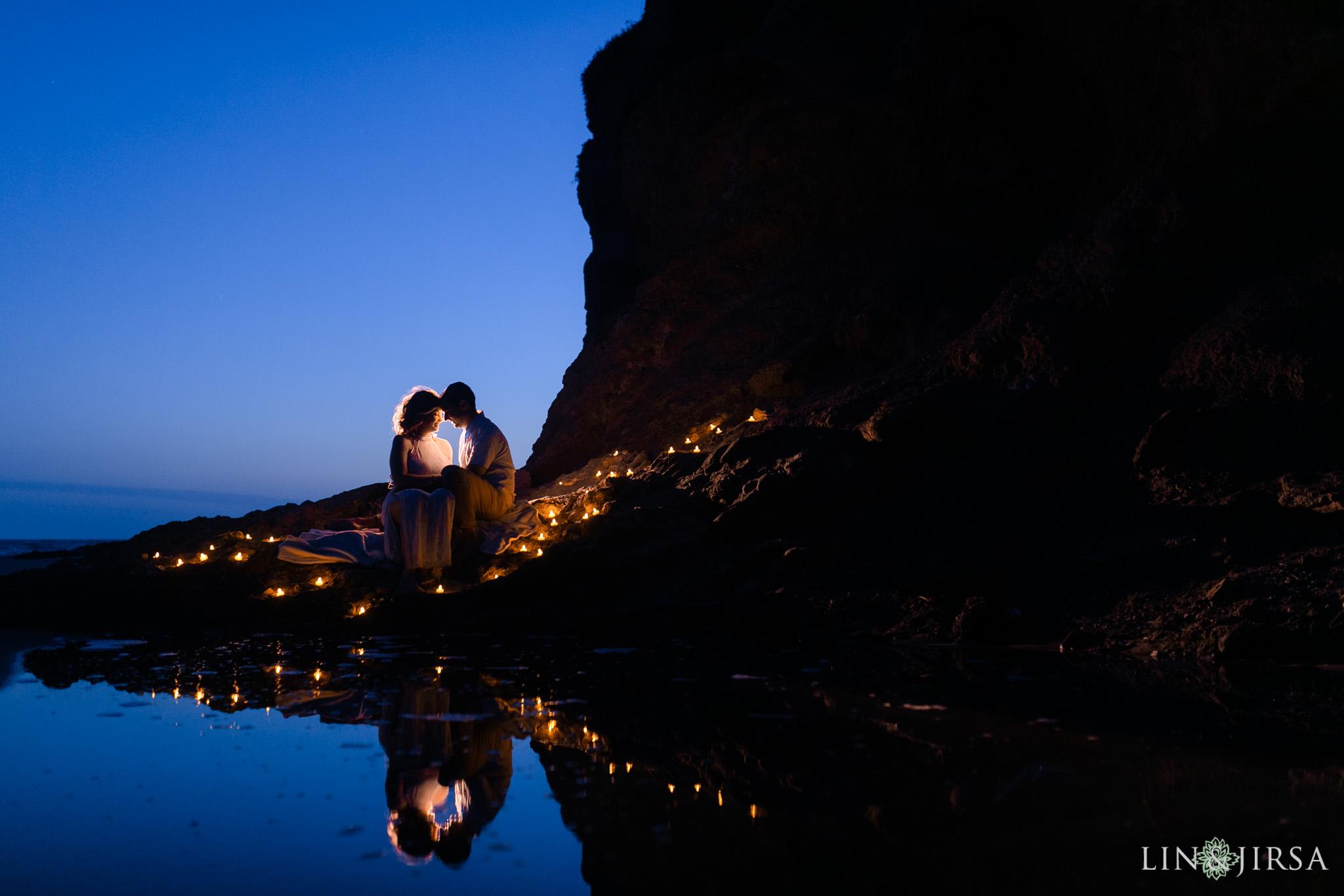18 Romantic Orange County Candles Engagement Photography