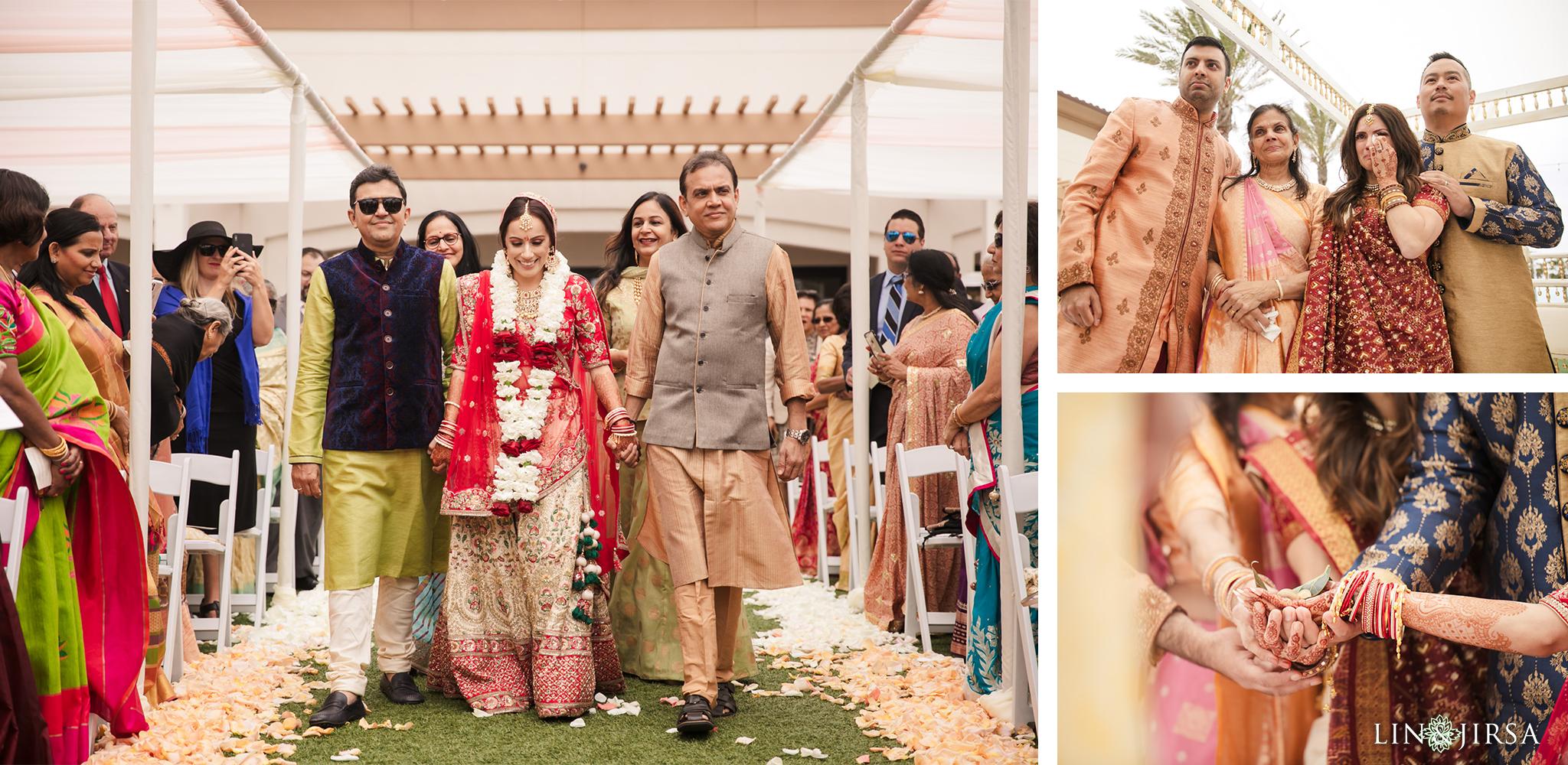 18 The Waterfront Beach Resort Orange County Indian Wedding Photography