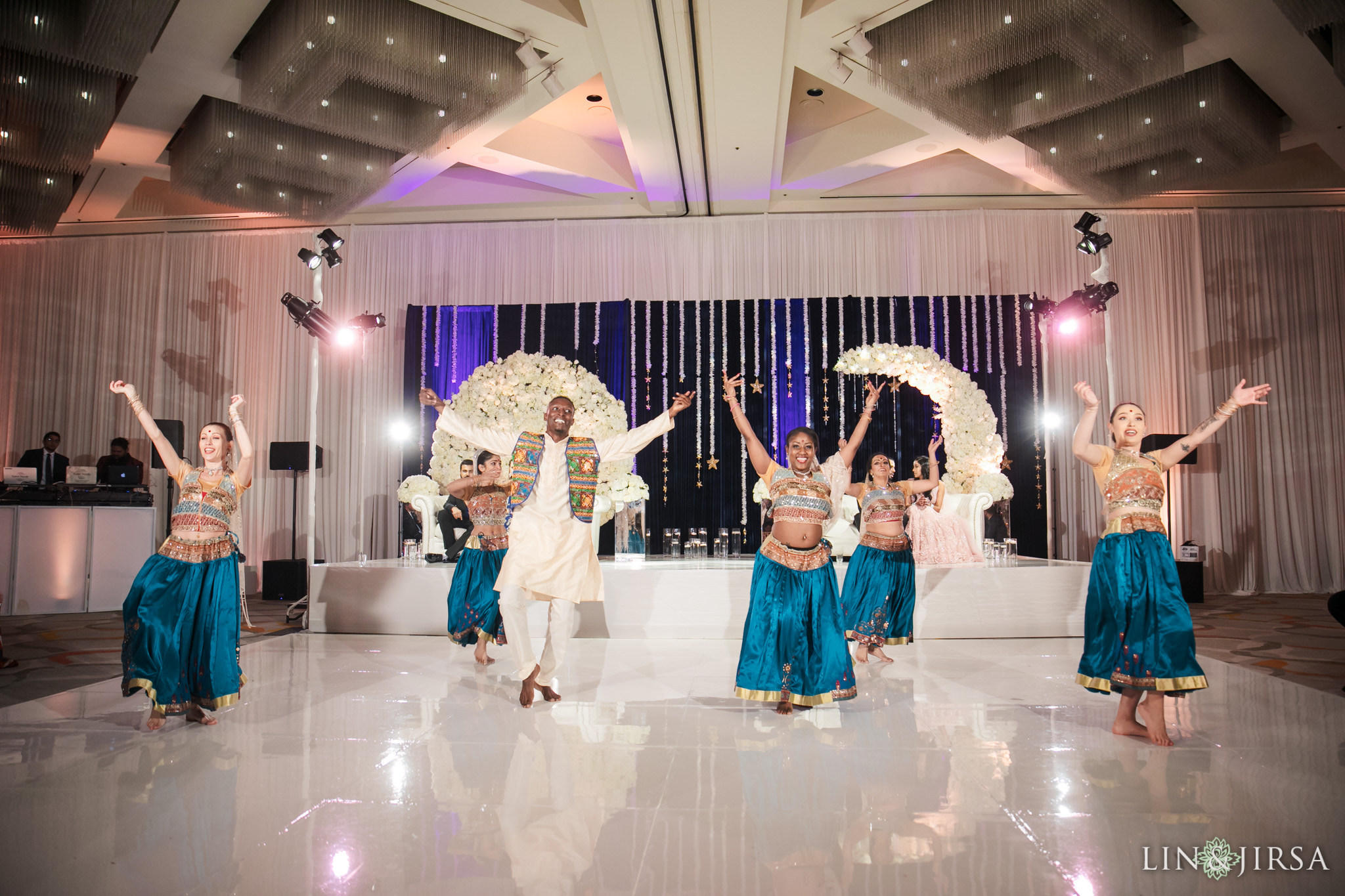 19 Hotel Irvine Joint Indian Reception Wedding Photography