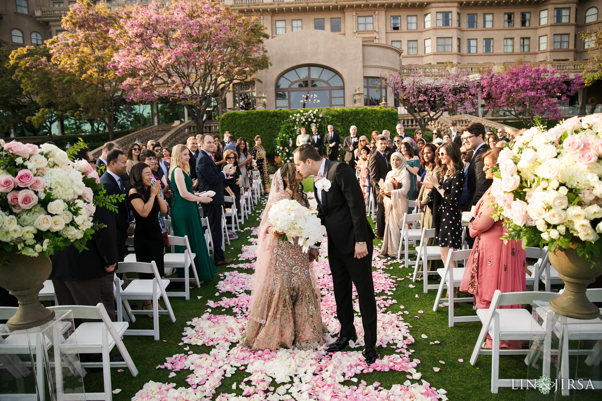 19 Langham Pasadena Multicultural Wedding Photography