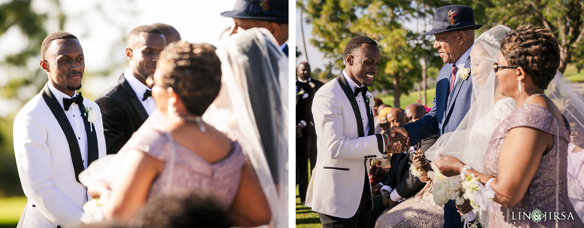 19 Los Verdes Golf Course Palos Verdes Kenyan Wedding Photography