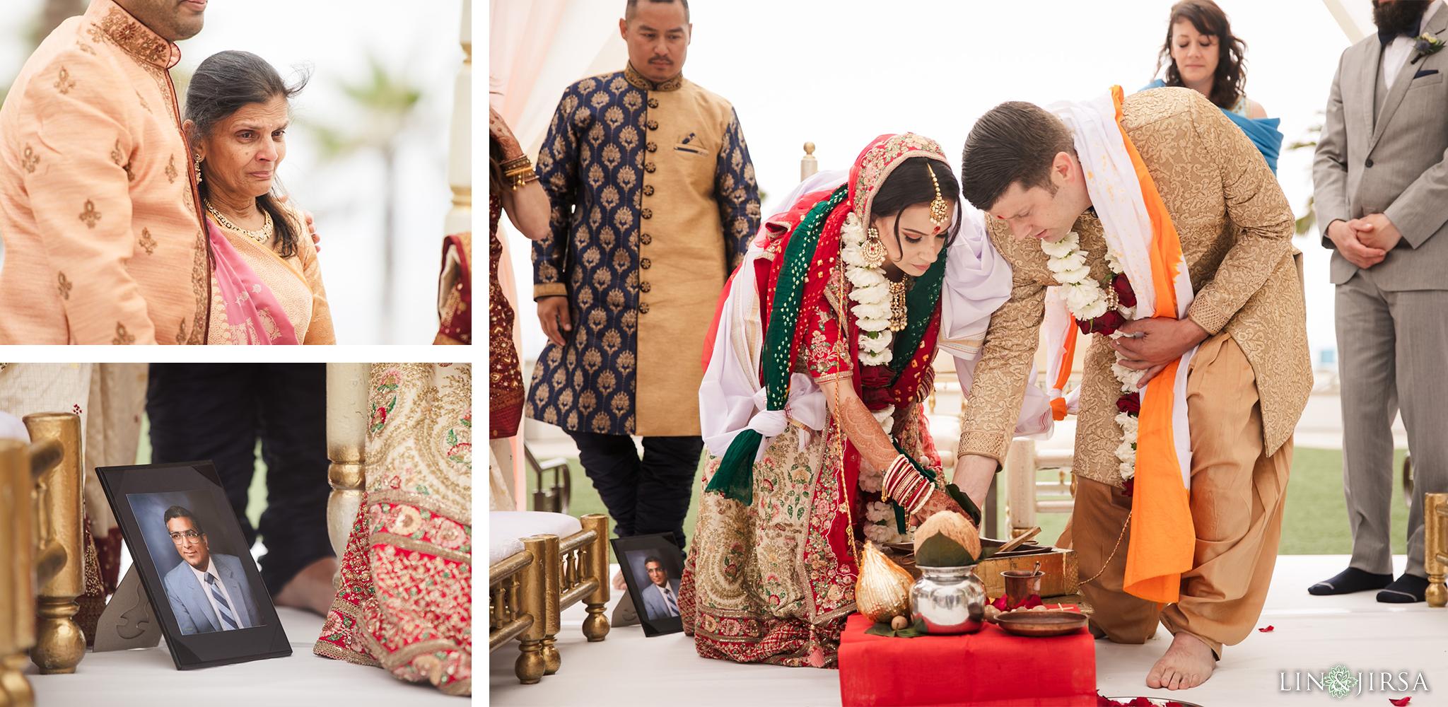 19 The Waterfront Beach Resort Orange County Indian Wedding Photography