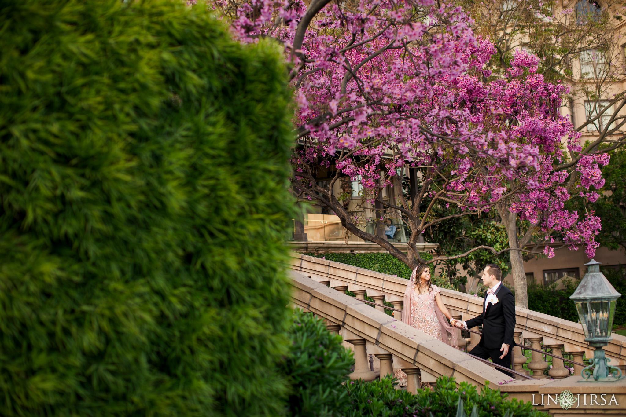 20 Langham Pasadena Multicultural Wedding Photography