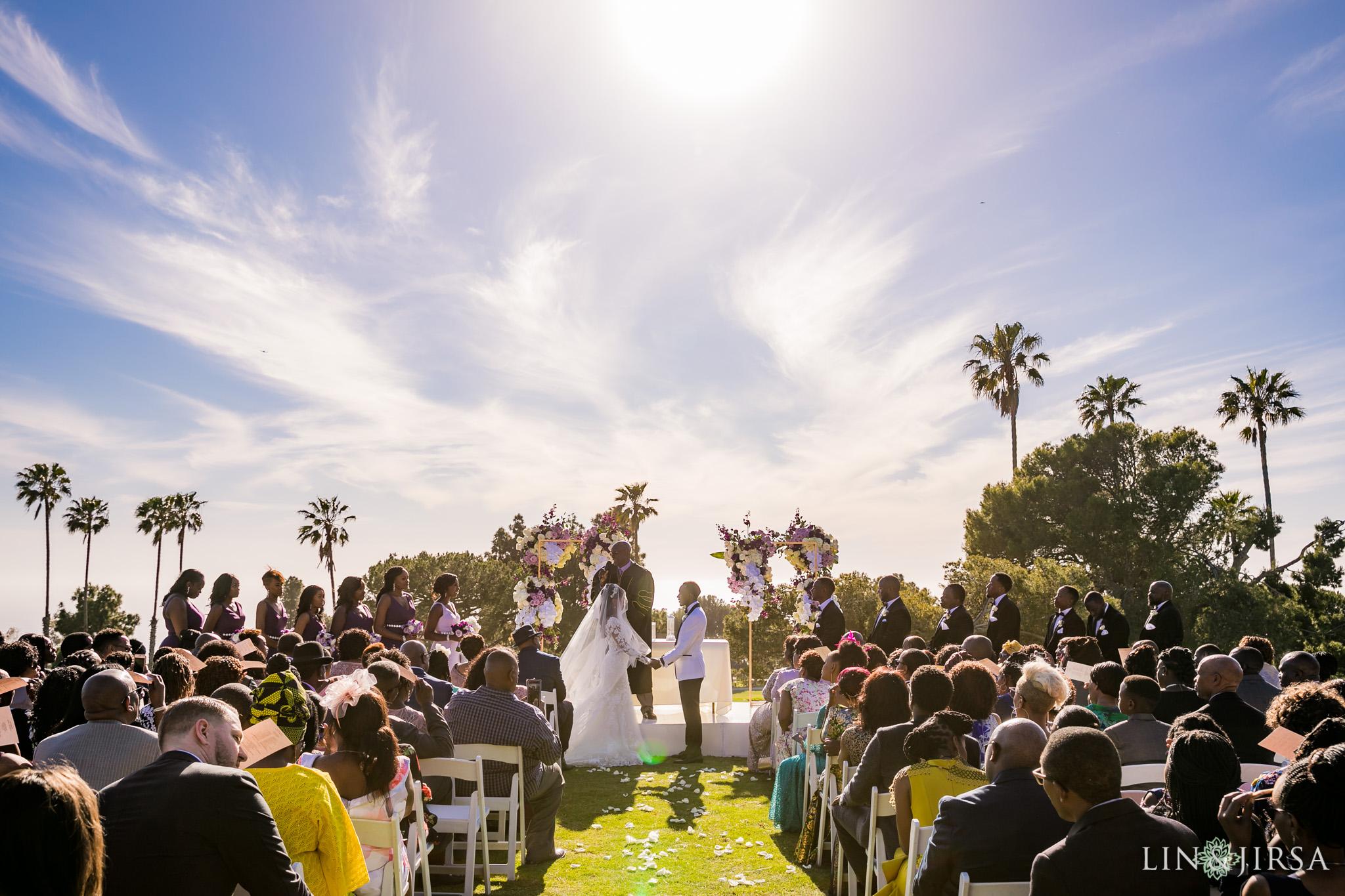 20 Los Verdes Golf Course Palos Verdes Kenyan Wedding Photography