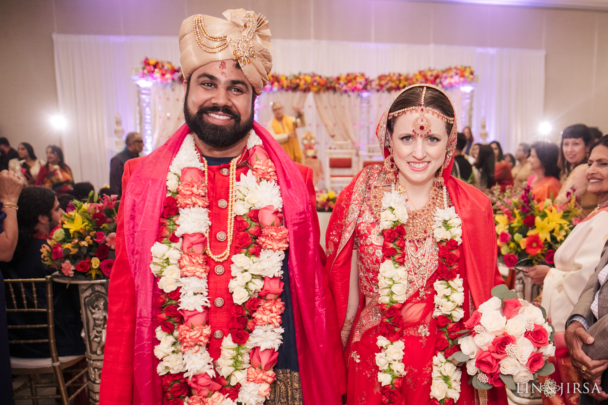 21 Hotel Irvine Multicultural Indian Wedding Photography