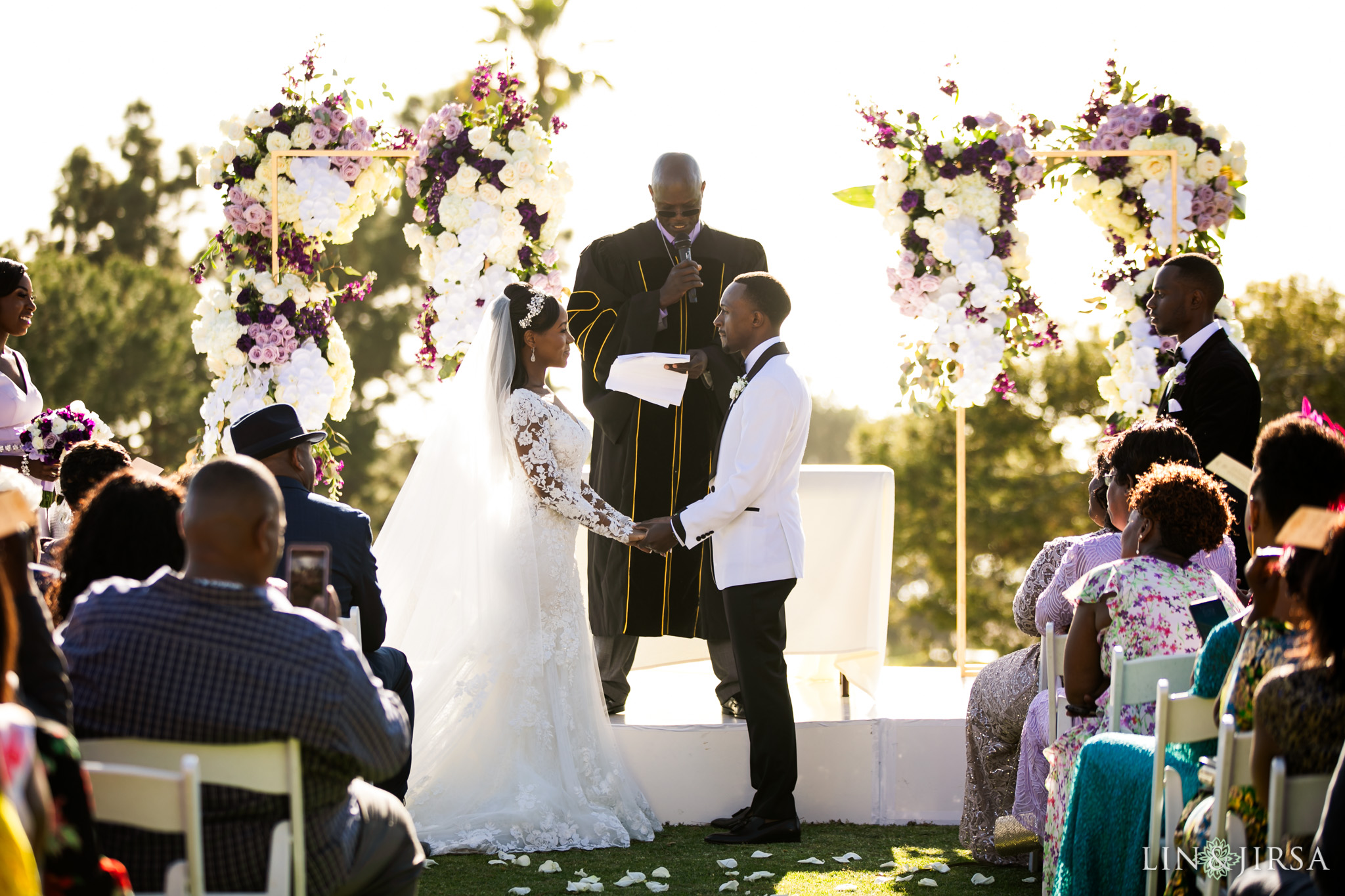 21 Los Verdes Golf Course Palos Verdes Kenyan Wedding Photography