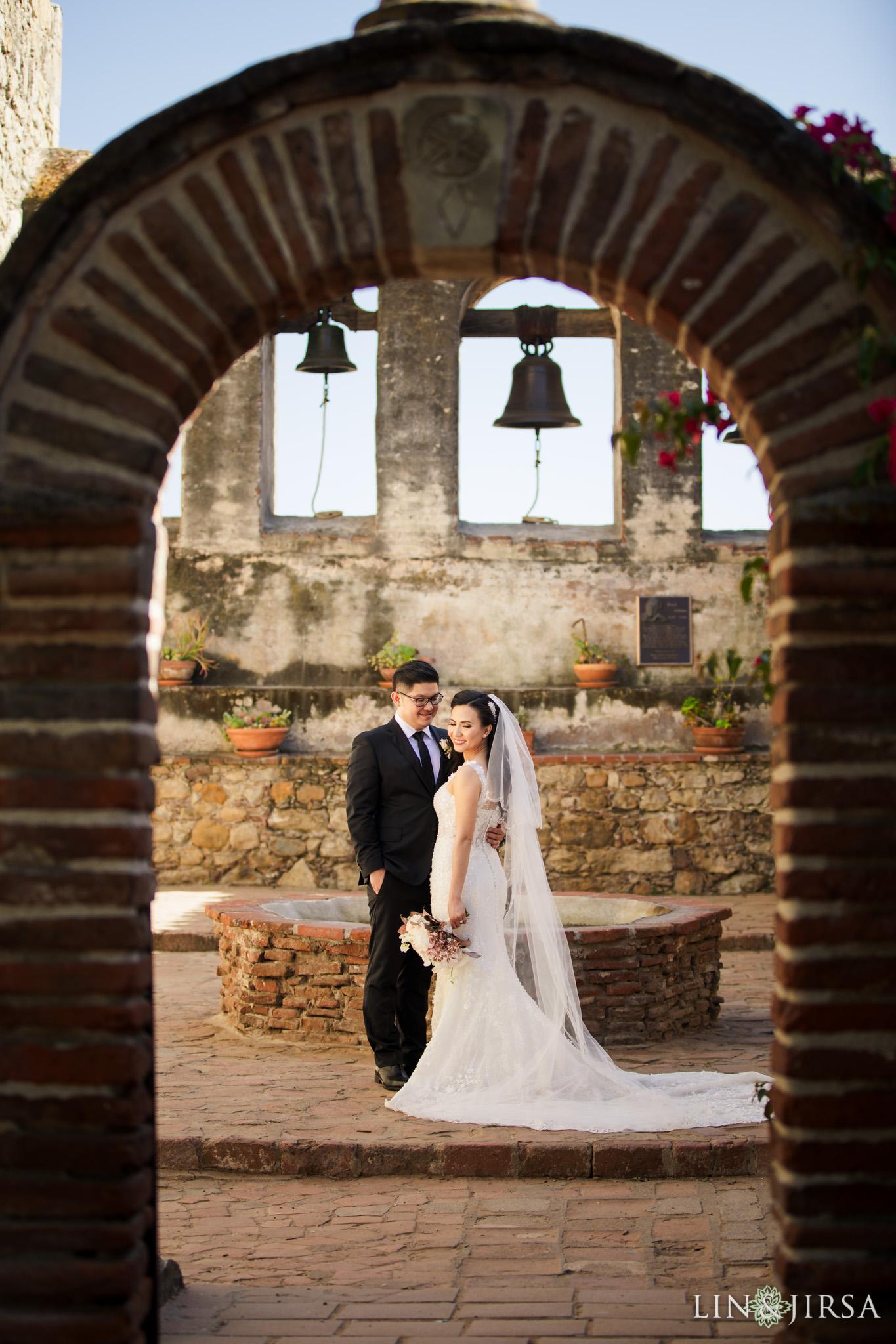 21 Mission Basilica San Juan Capistrano Wedding Photography