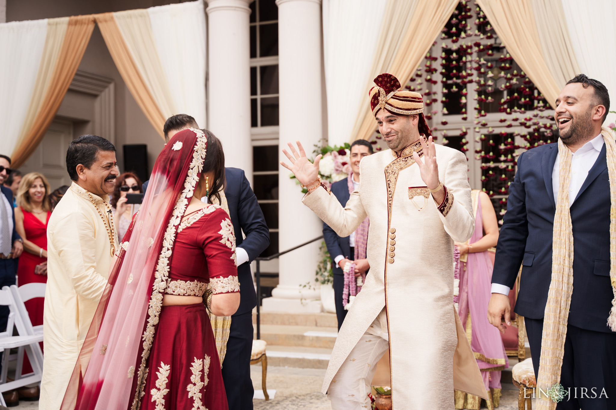 21 The Ebell Los Angeles Indian Wedding Ceremony Photography