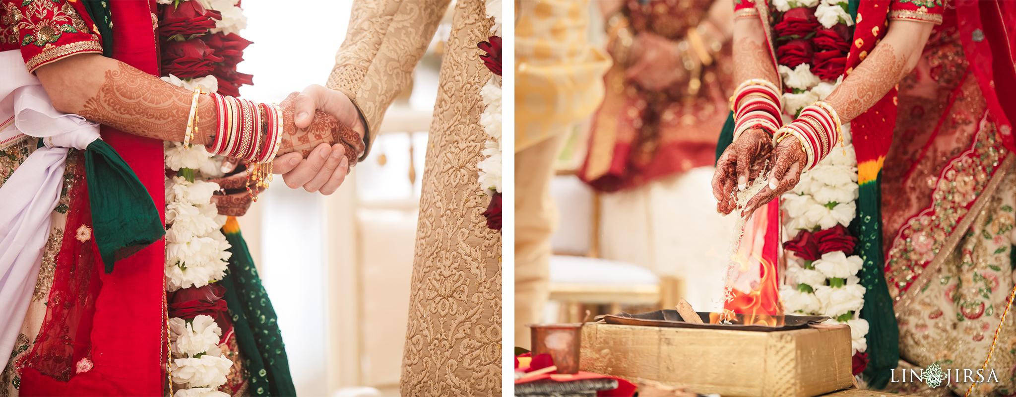 21 The Waterfront Beach Resort Orange County Indian Wedding Photography