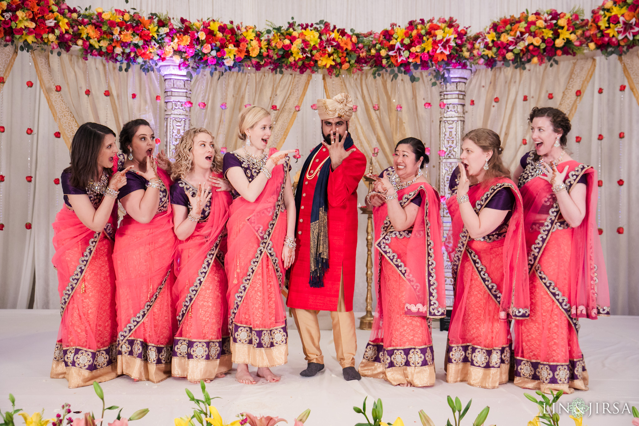 22 Hotel Irvine Multicultural Indian Wedding Photography