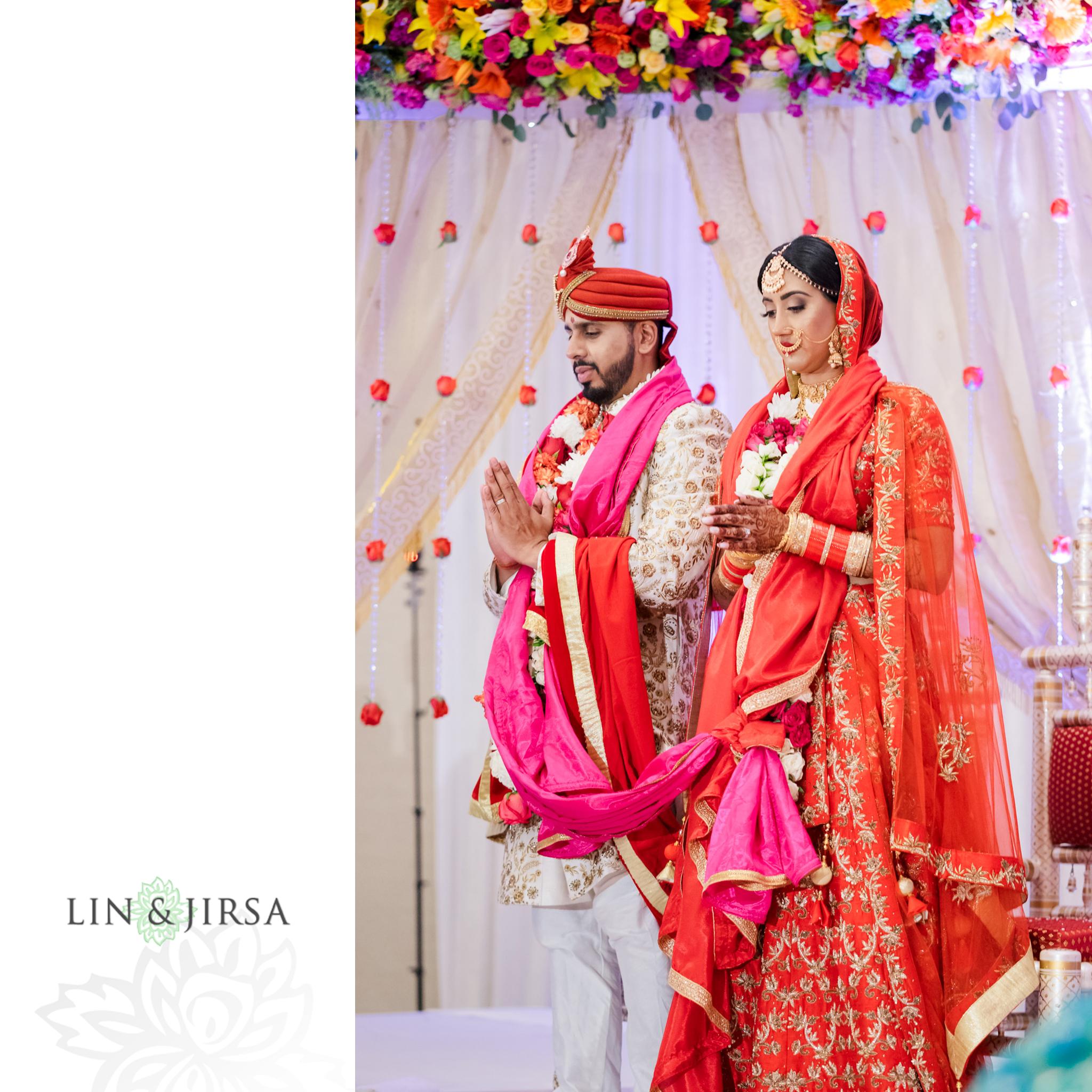 22 Hotel Irvine Punjabi Hindu Indian Wedding Photography