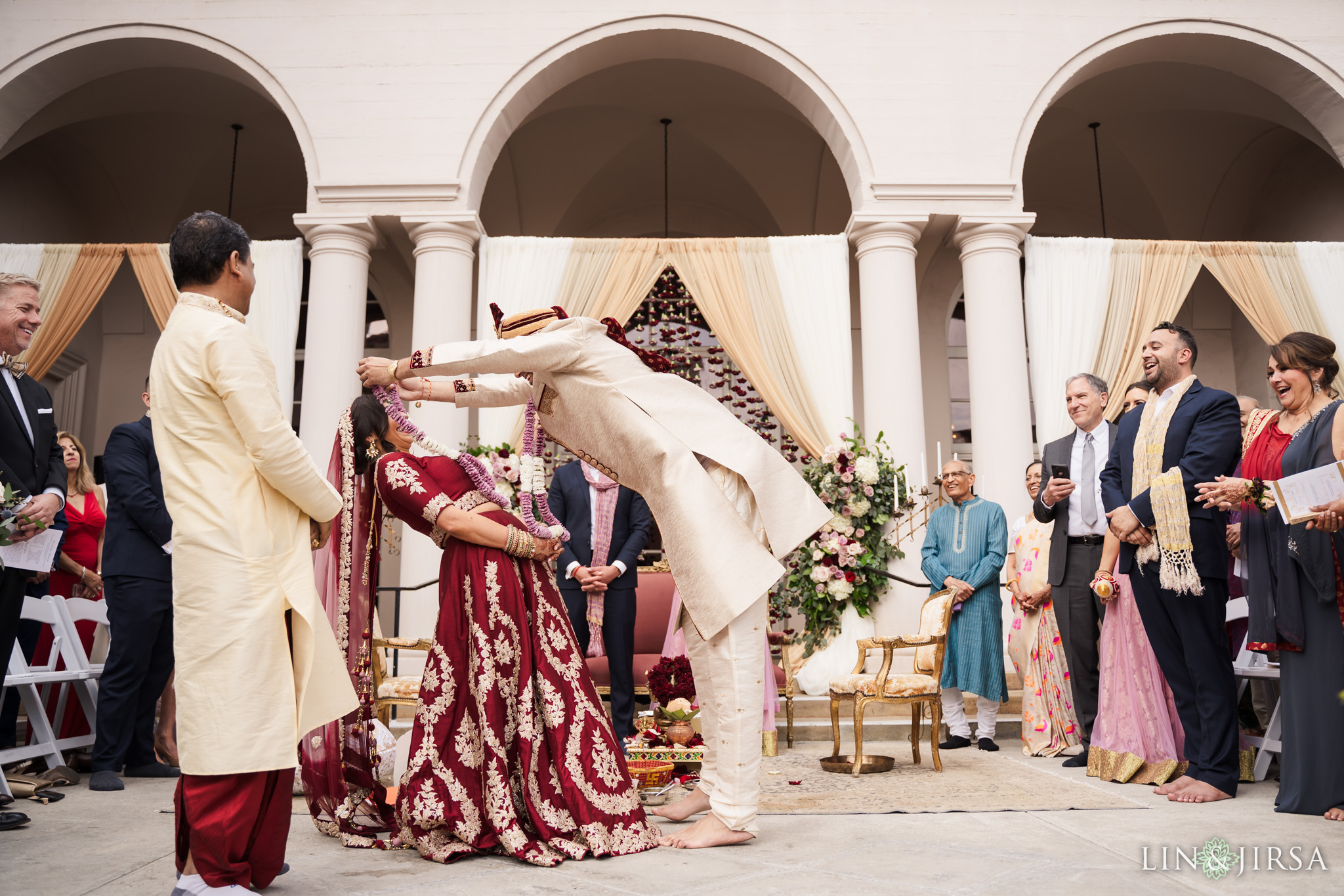 22 The Ebell Los Angeles Indian Wedding Ceremony Photography