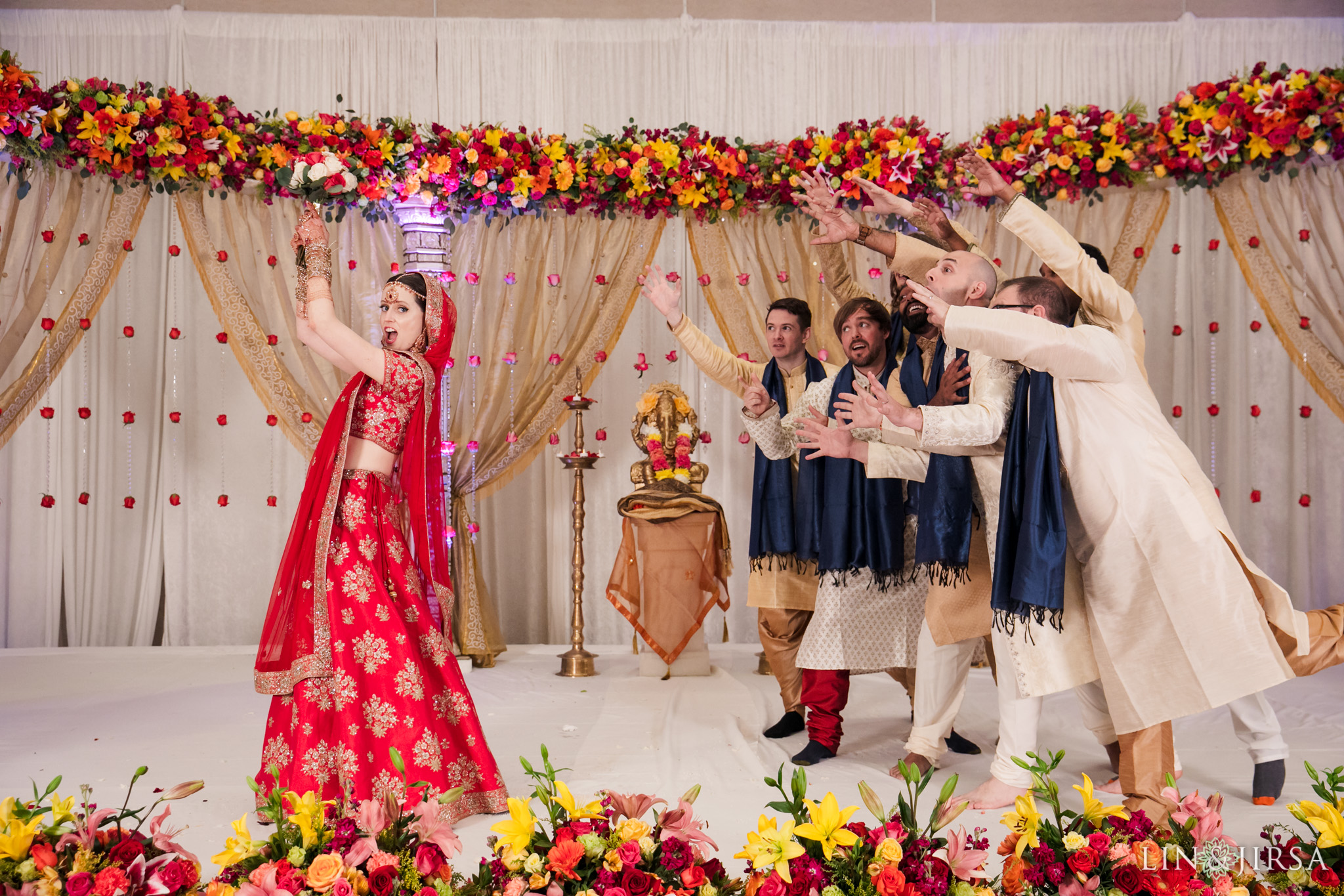 23 Hotel Irvine Multicultural Indian Wedding Photography