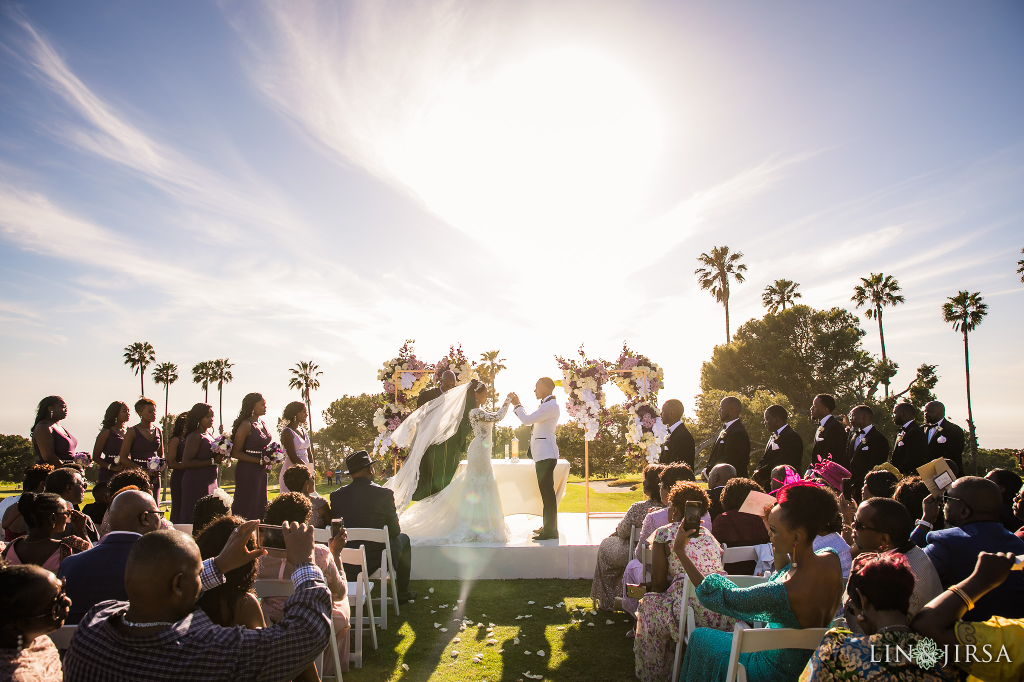24 Los Verdes Golf Course Palos Verdes Kenyan Wedding Photography
