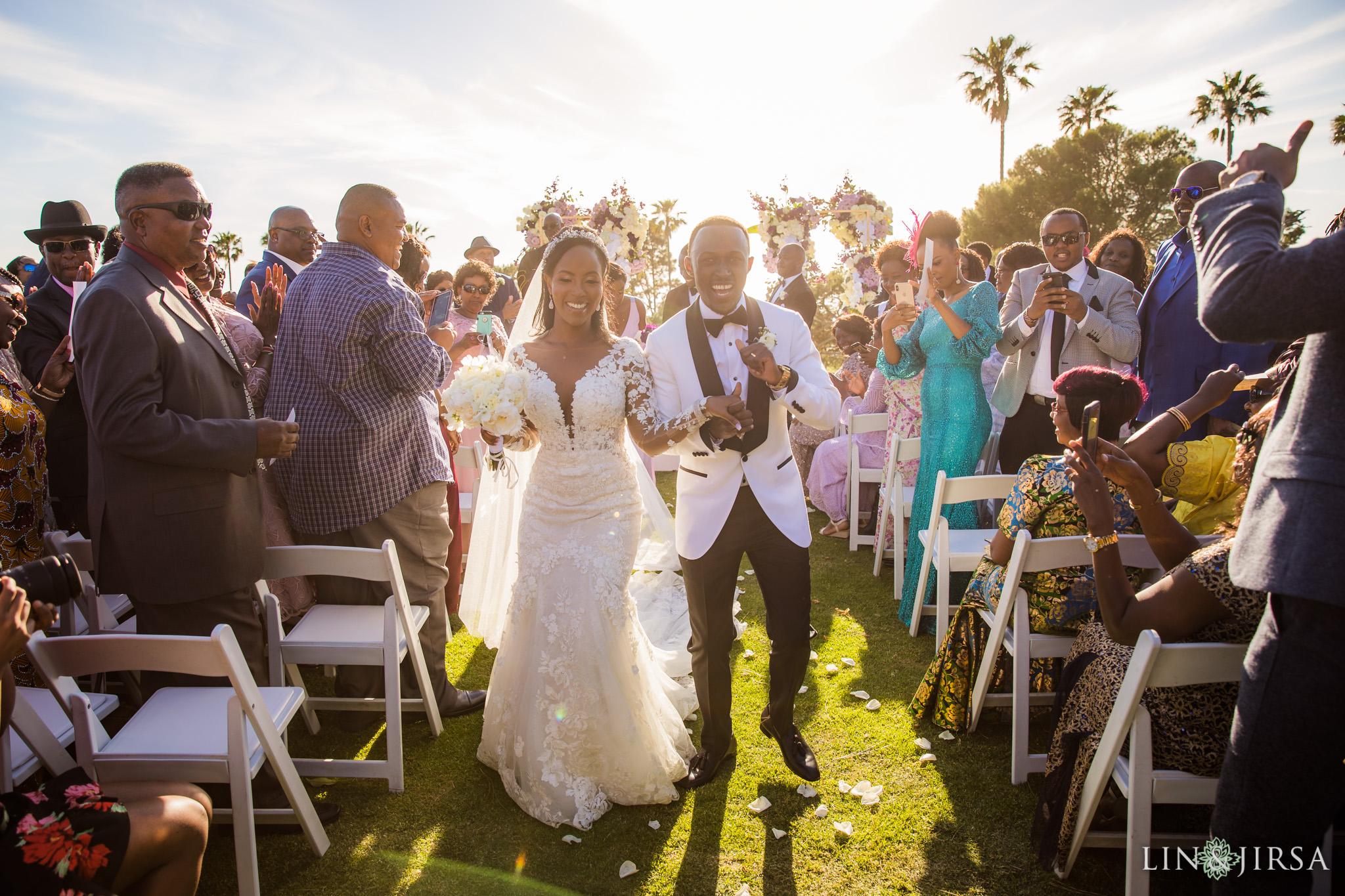 25 Los Verdes Golf Course Palos Verdes Kenyan Wedding Photography