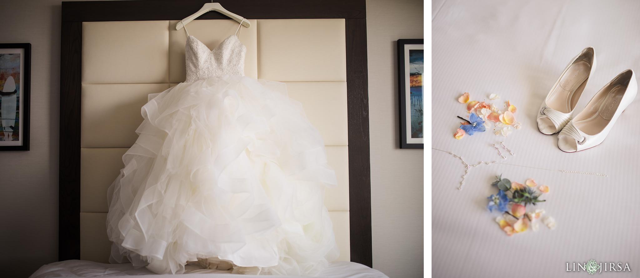 25 The Waterfront Beach Resort Orange County Indian Wedding Photography
