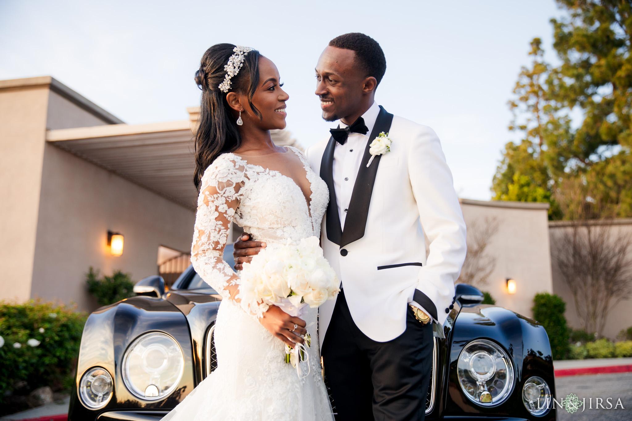 26 Los Verdes Golf Course Palos Verdes Kenyan Wedding Photography