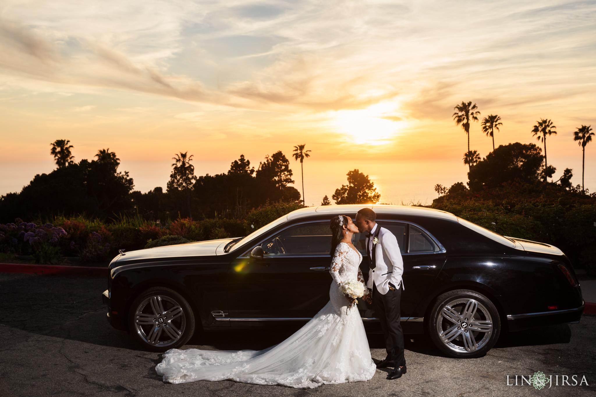 27 Los Verdes Golf Course Palos Verdes Kenyan Wedding Photography
