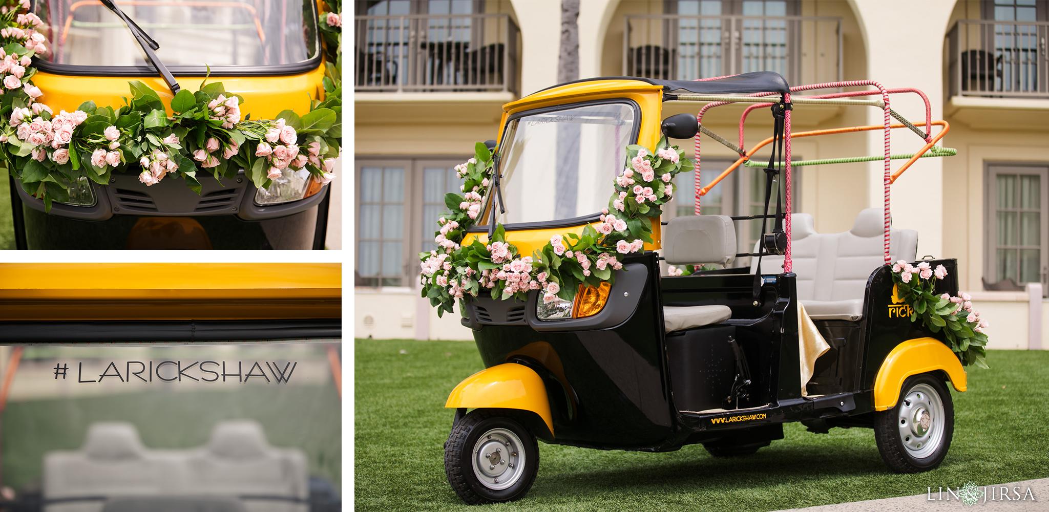 27 Ritz Carlton Laguna Niguel Rickshaw Baraat Photography