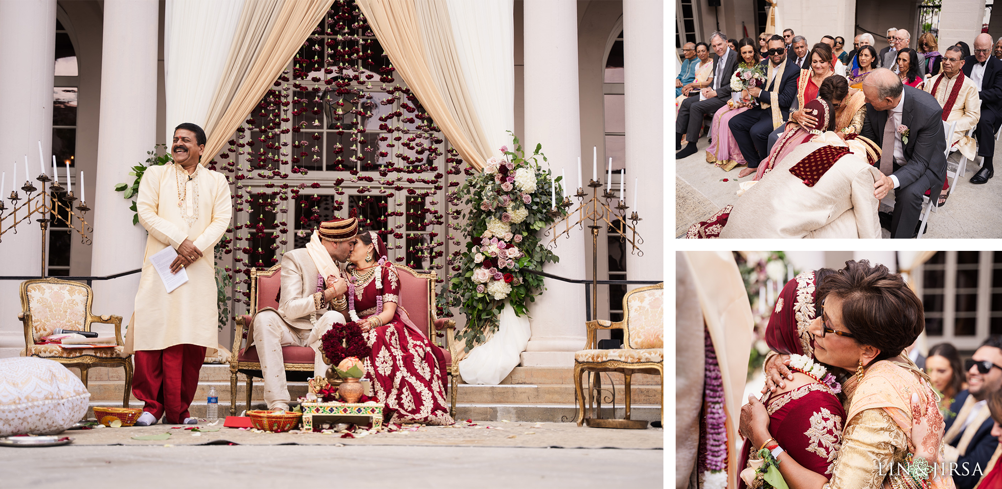 27 The Ebell Los Angeles Indian Wedding Ceremony Photography